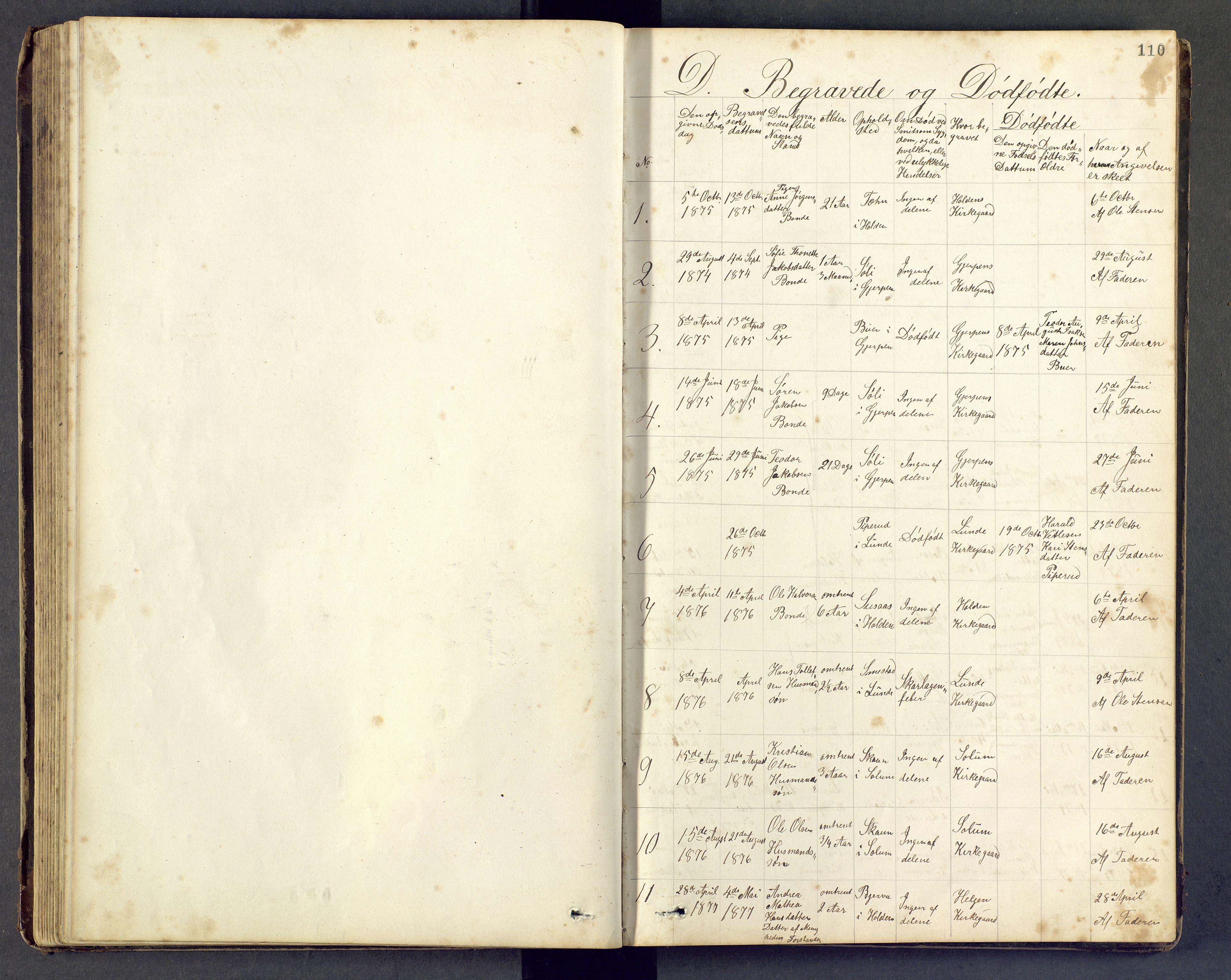 SAKO, Den evangeliske lutherske frimenighet (SAKO), Dissenterprotokoll nr. Fa/L0001, 1872-1906, s. 110