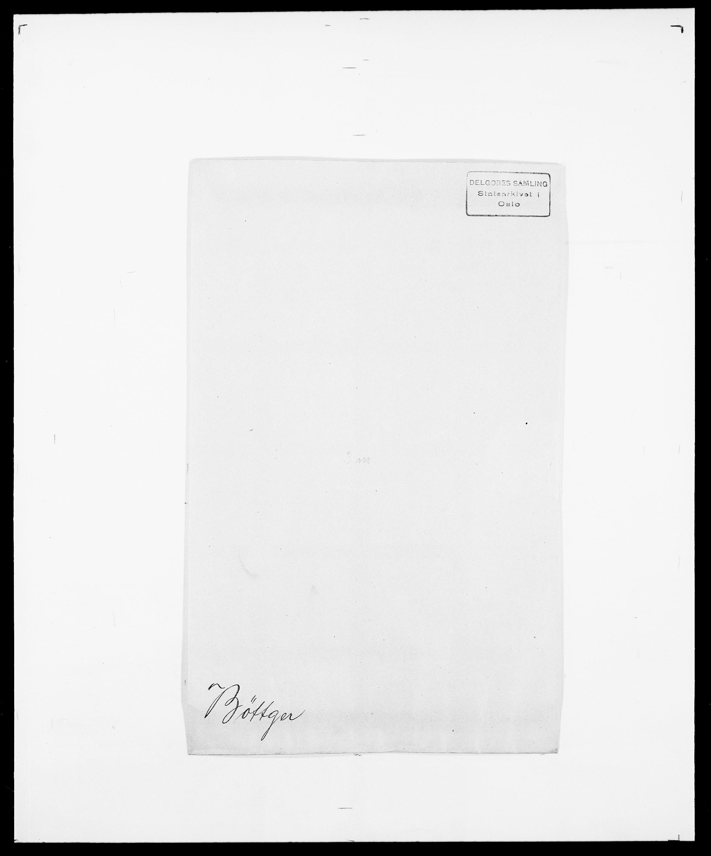 SAO, Delgobe, Charles Antoine - samling, D/Da/L0007: Buaas - Caphengst, s. 804