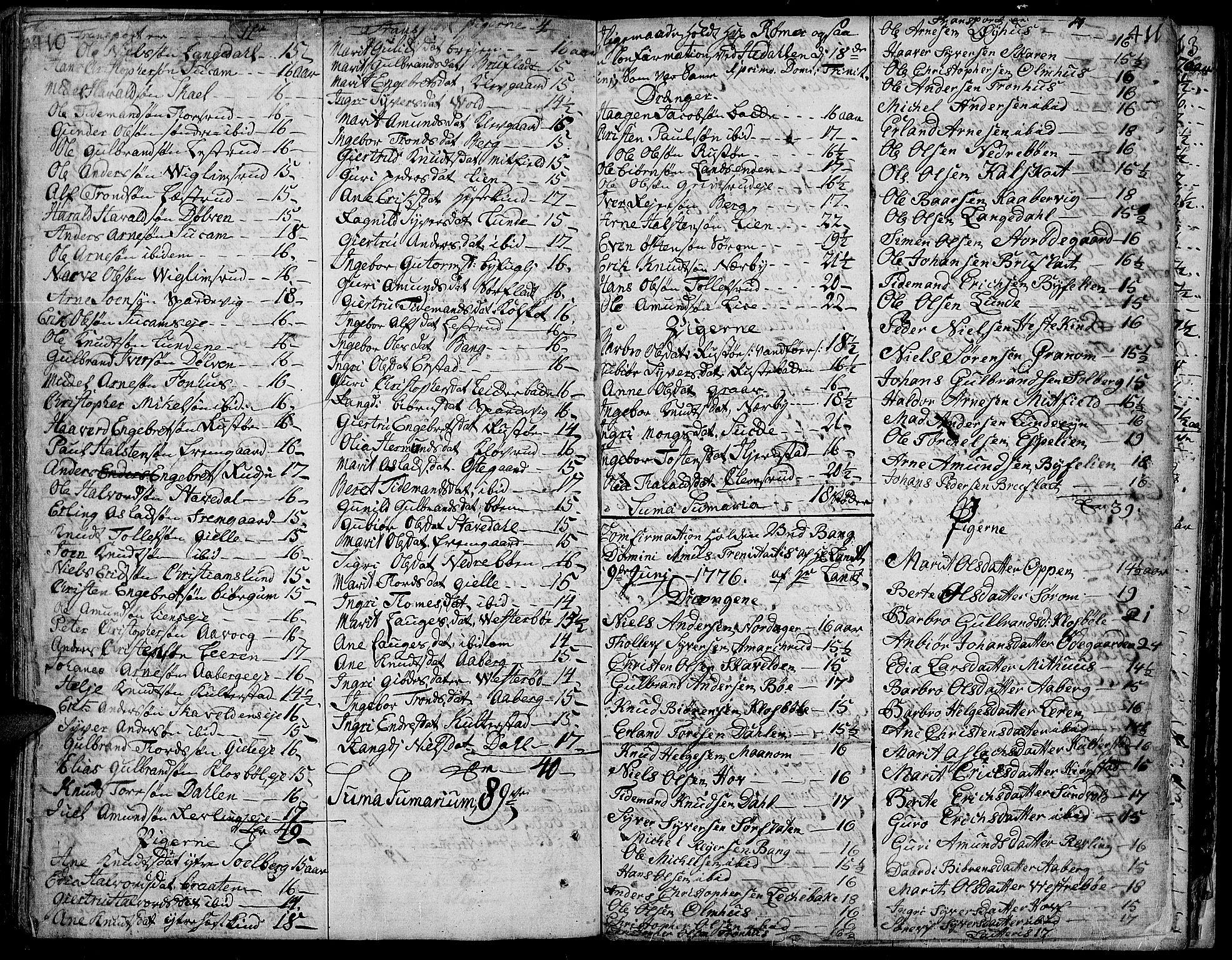 SAH, Aurdal prestekontor, Ministerialbok nr. 5, 1763-1781, s. 410-411