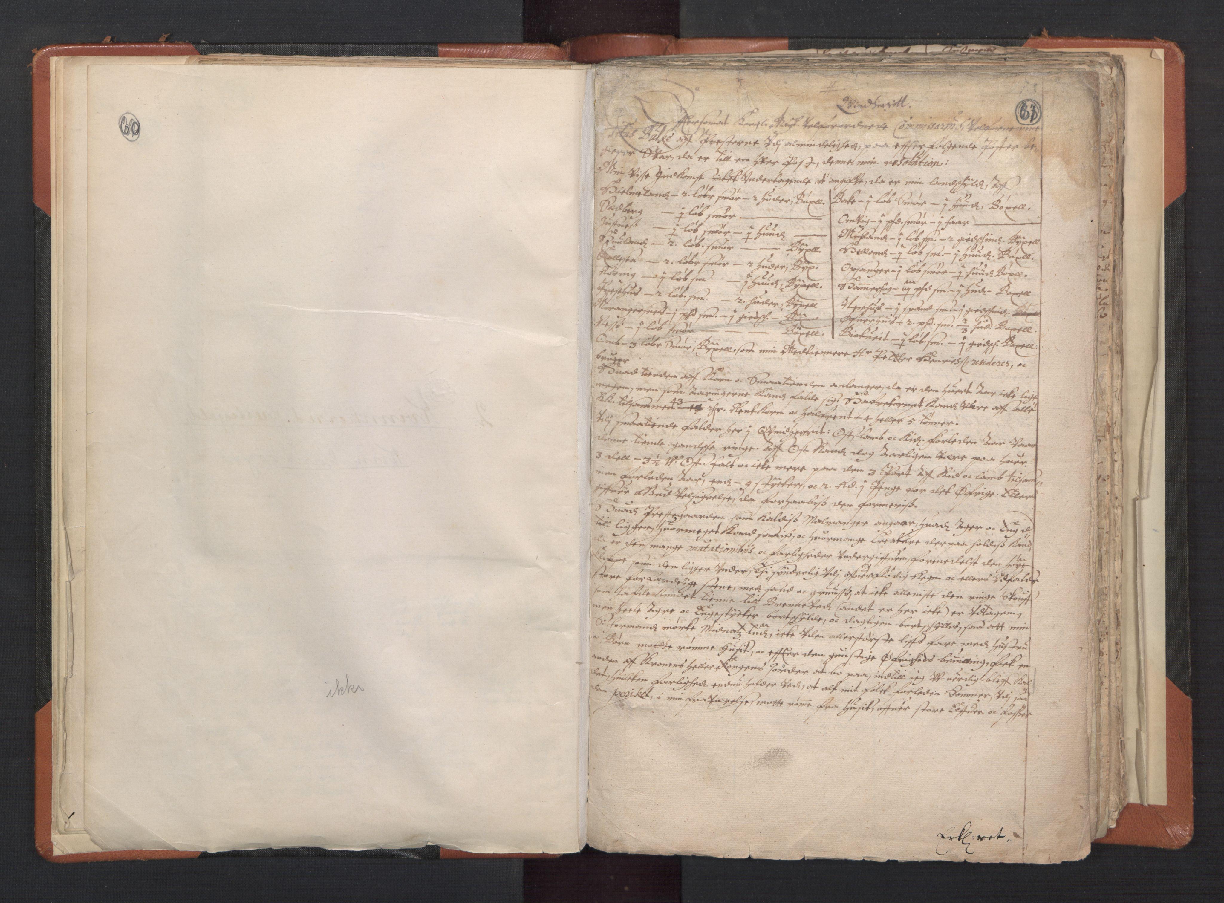 RA, Sogneprestenes manntall 1664-1666, nr. 20: Sunnhordland prosti, 1664-1666, s. 60-61