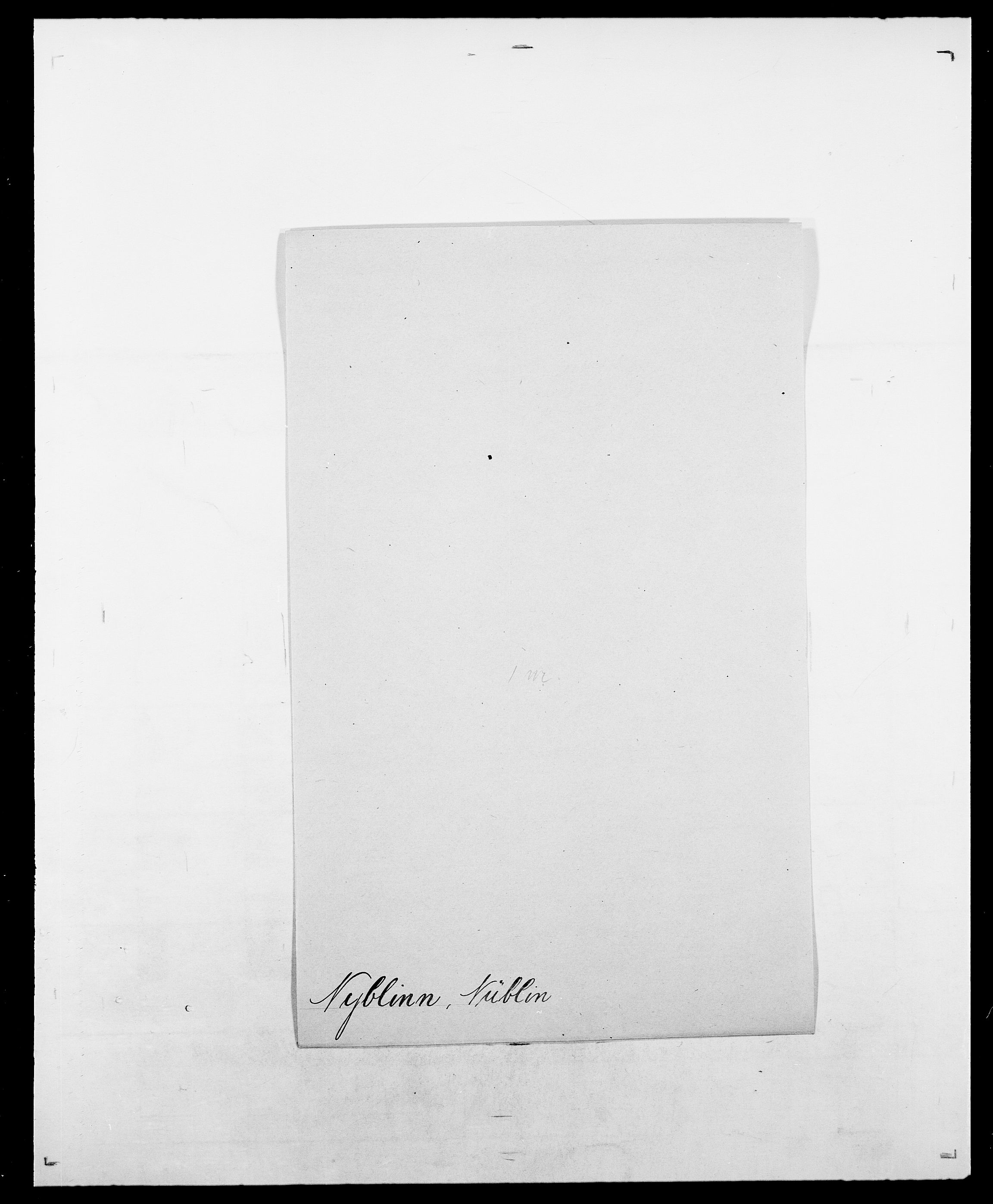 SAO, Delgobe, Charles Antoine - samling, D/Da/L0028: Naaden - Nøvik, s. 516