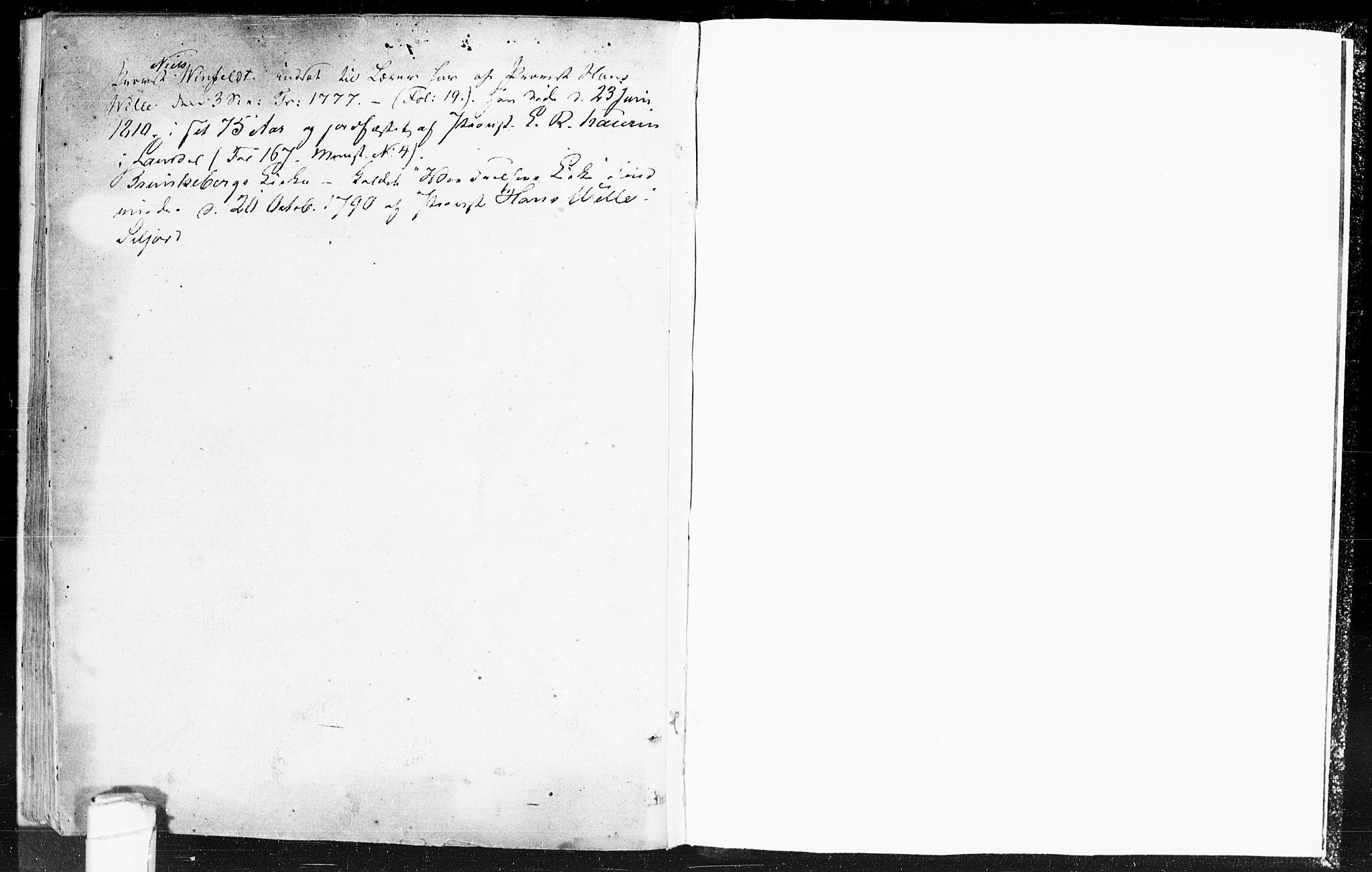 SAKO, Kviteseid kirkebøker, F/Fa/L0002: Ministerialbok nr. I 2, 1773-1786