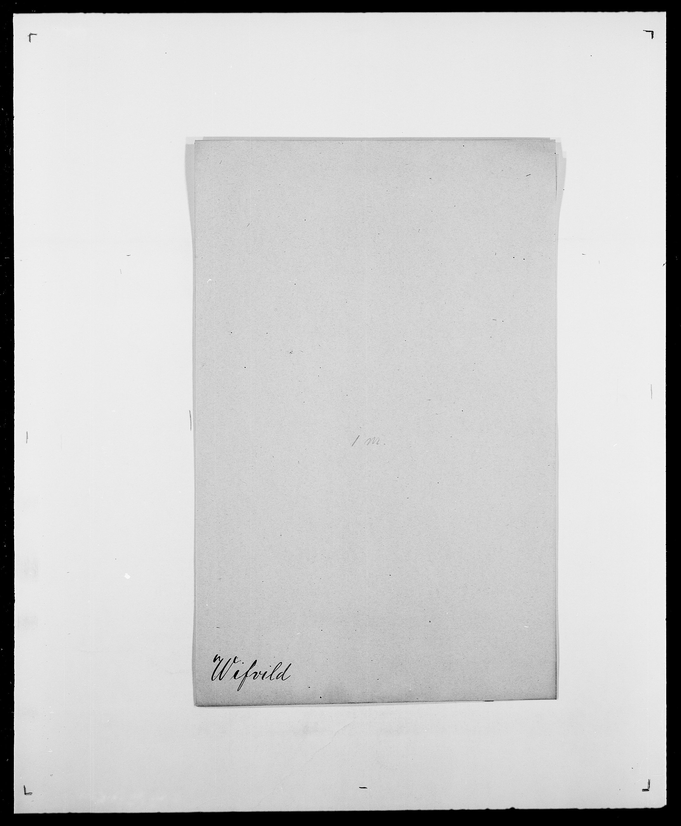 SAO, Delgobe, Charles Antoine - samling, D/Da/L0041: Vemmestad - Viker, s. 664
