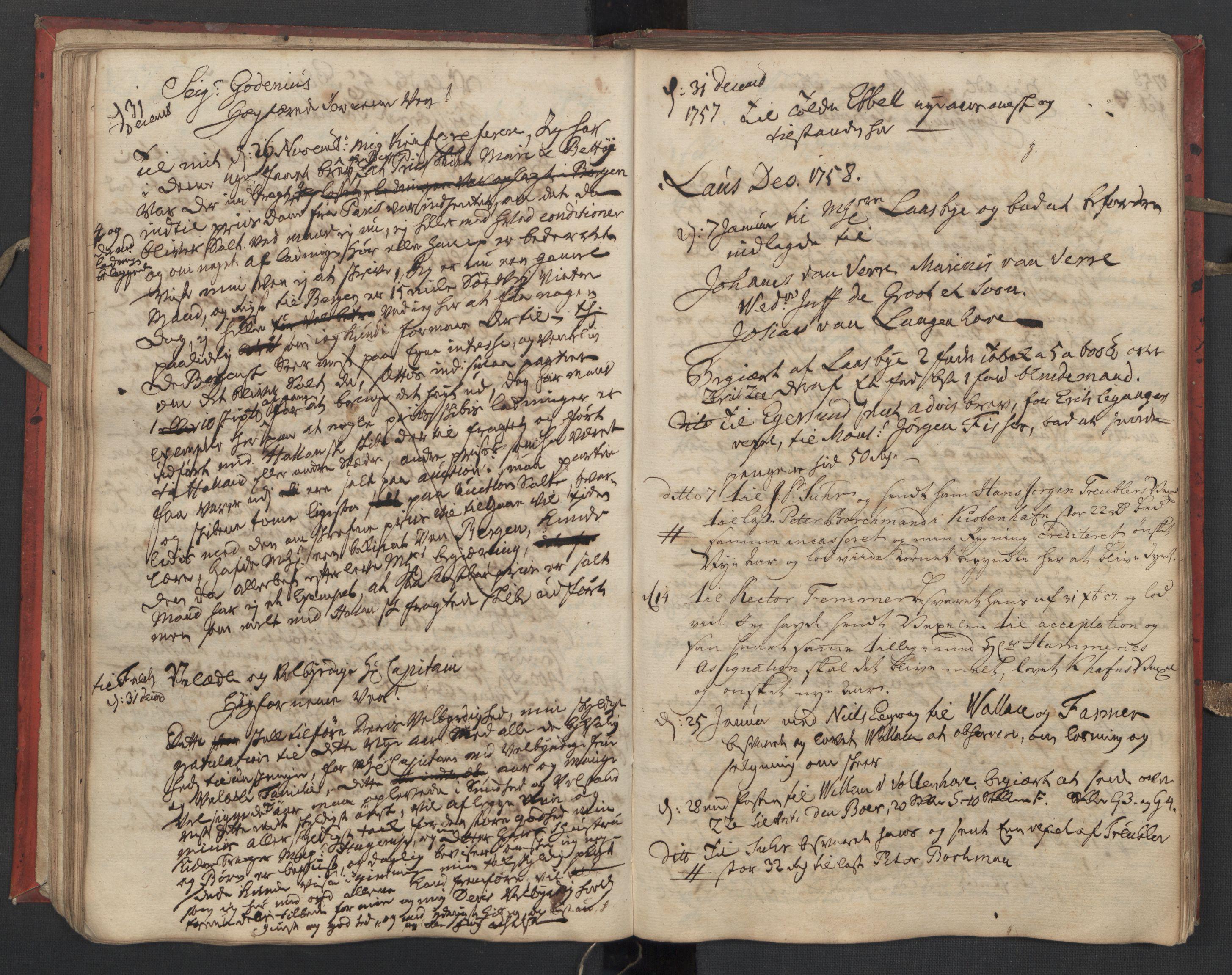 SAST, Pa 0119 - Smith, Lauritz Andersen og Lauritz Lauritzen, O/L0002: Kopibok, 1755-1766, s. 57