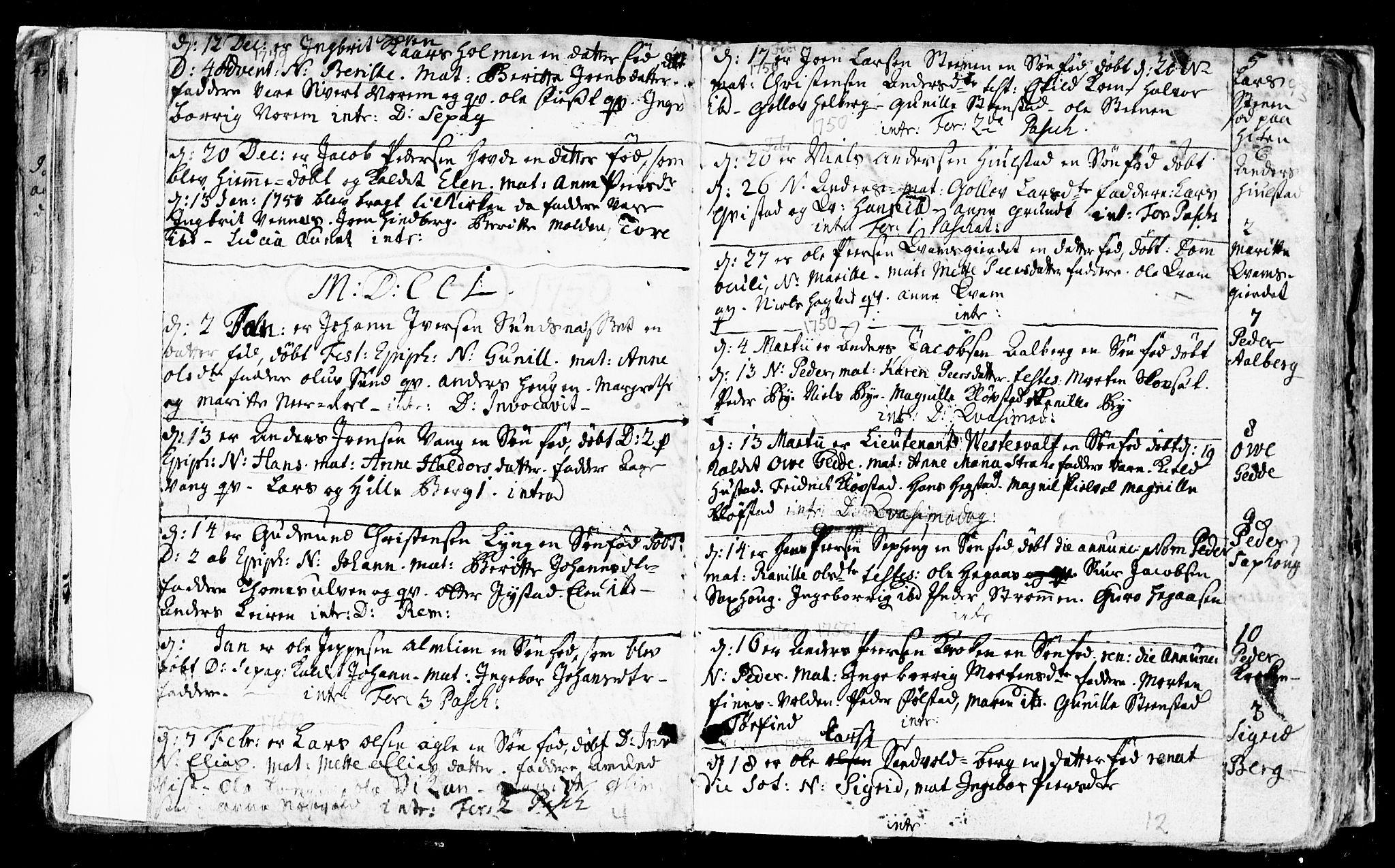 SAT, Ministerialprotokoller, klokkerbøker og fødselsregistre - Nord-Trøndelag, 730/L0272: Ministerialbok nr. 730A01, 1733-1764, s. 93