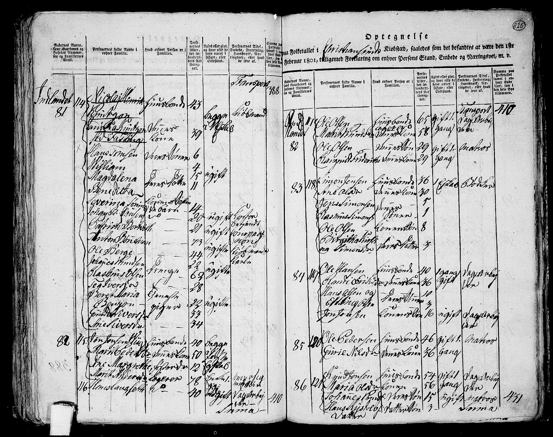 RA, Folketelling 1801 for 1553P Kvernes prestegjeld, 1801, s. 824b-825a