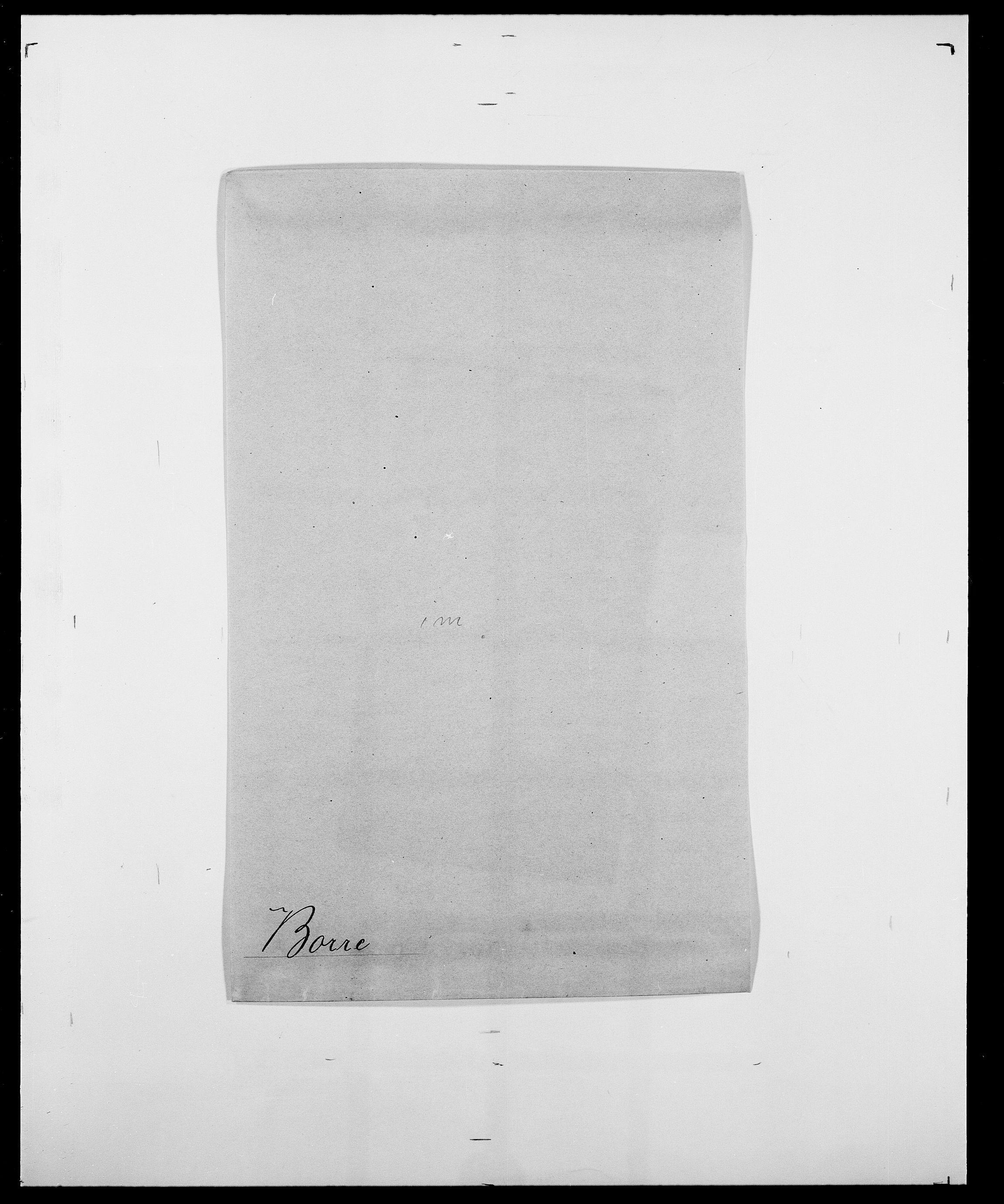 SAO, Delgobe, Charles Antoine - samling, D/Da/L0005: Boalth - Brahm, s. 301
