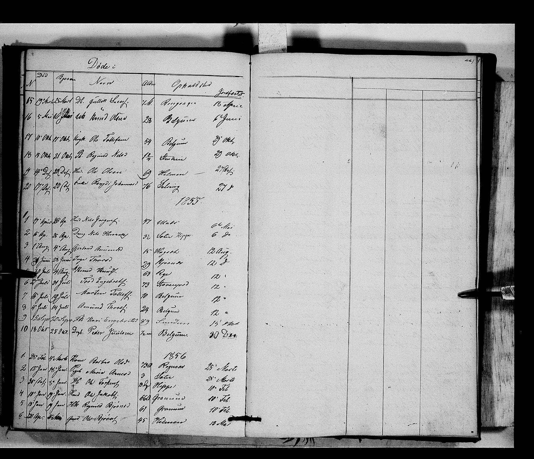 SAH, Nord-Aurdal prestekontor, Ministerialbok nr. 6, 1842-1863, s. 227