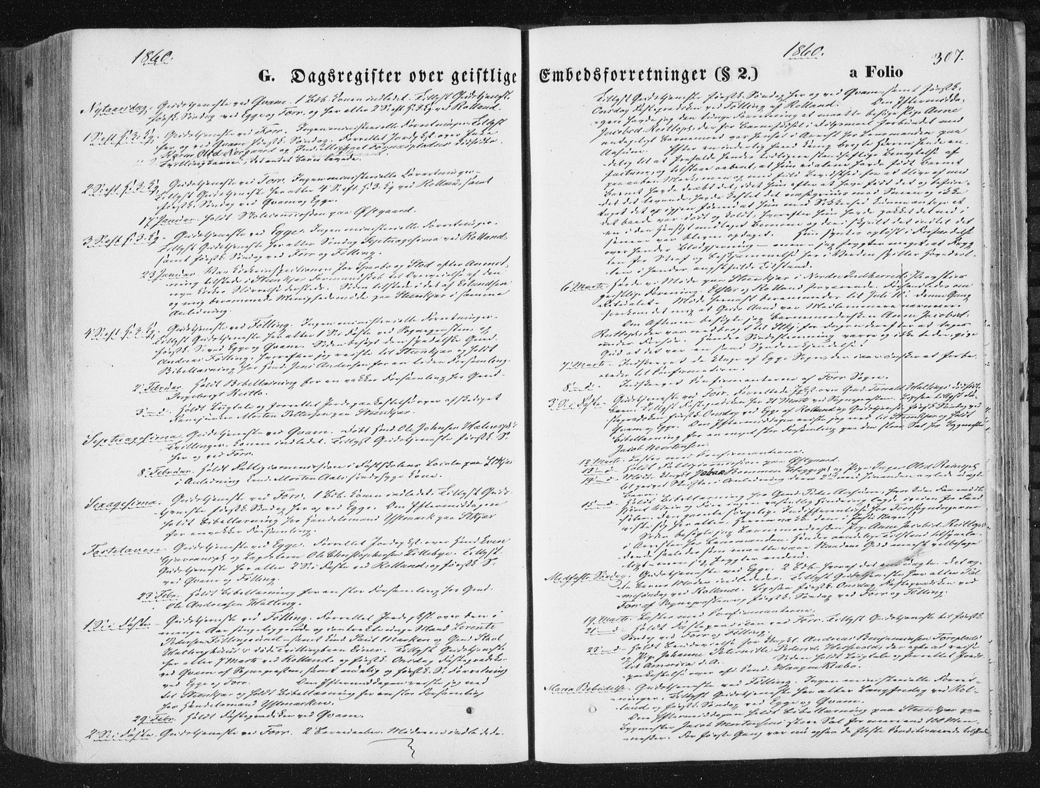 SAT, Ministerialprotokoller, klokkerbøker og fødselsregistre - Nord-Trøndelag, 746/L0447: Ministerialbok nr. 746A06, 1860-1877, s. 307