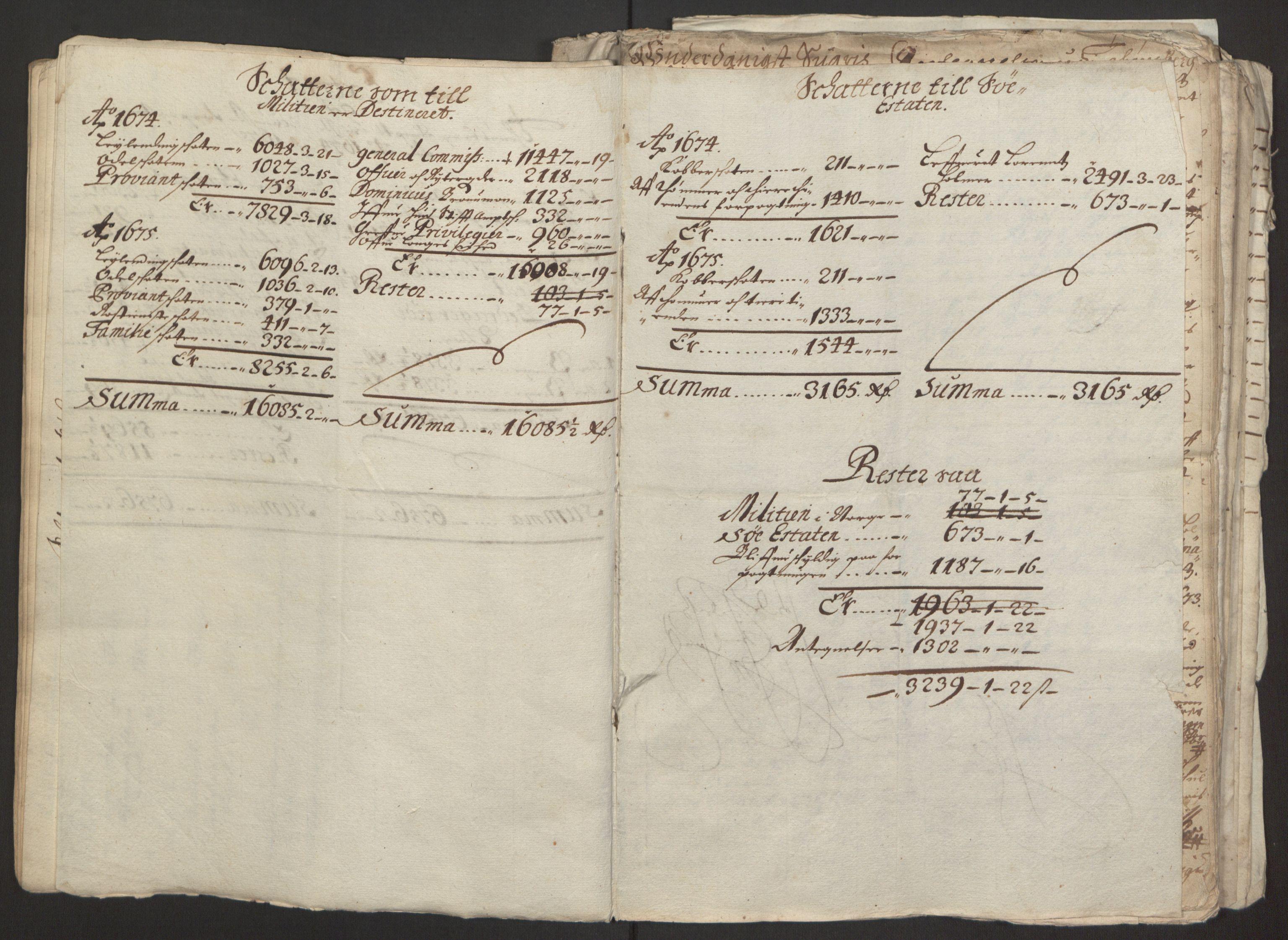 RA, Rentekammeret inntil 1814, Reviderte regnskaper, Fogderegnskap, R32/L1843: Fogderegnskap Jarlsberg grevskap, 1674-1675, s. 26