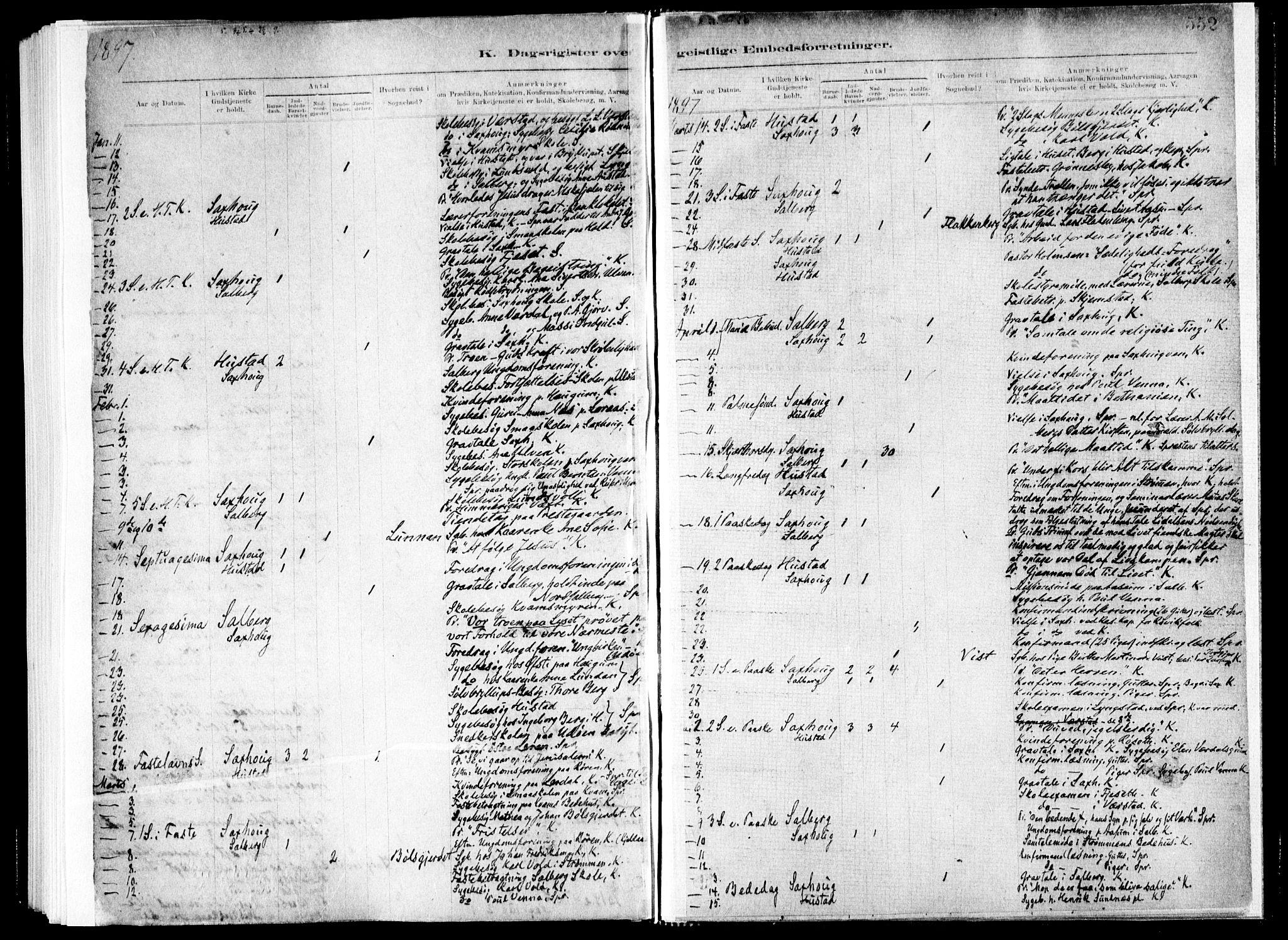 SAT, Ministerialprotokoller, klokkerbøker og fødselsregistre - Nord-Trøndelag, 730/L0285: Ministerialbok nr. 730A10, 1879-1914, s. 552