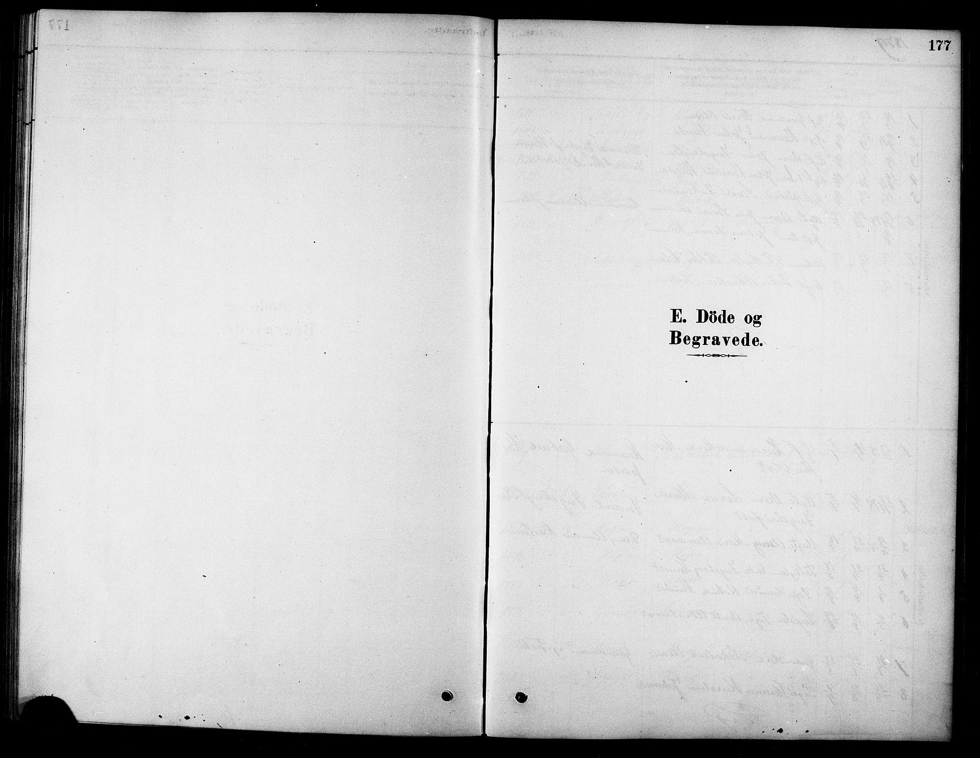 SAT, Ministerialprotokoller, klokkerbøker og fødselsregistre - Sør-Trøndelag, 658/L0722: Ministerialbok nr. 658A01, 1879-1896, s. 177