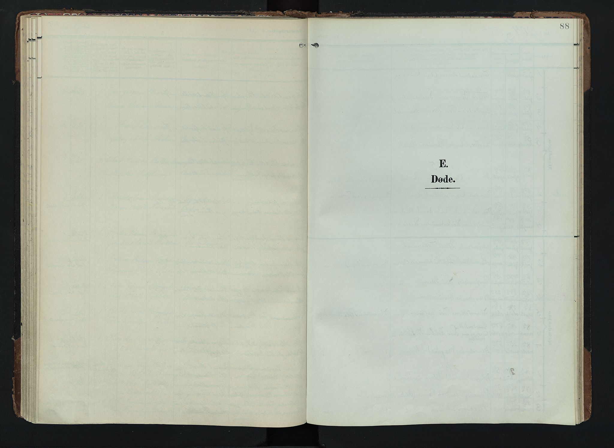 SAH, Lom prestekontor, K/L0012: Ministerialbok nr. 12, 1904-1928, s. 88