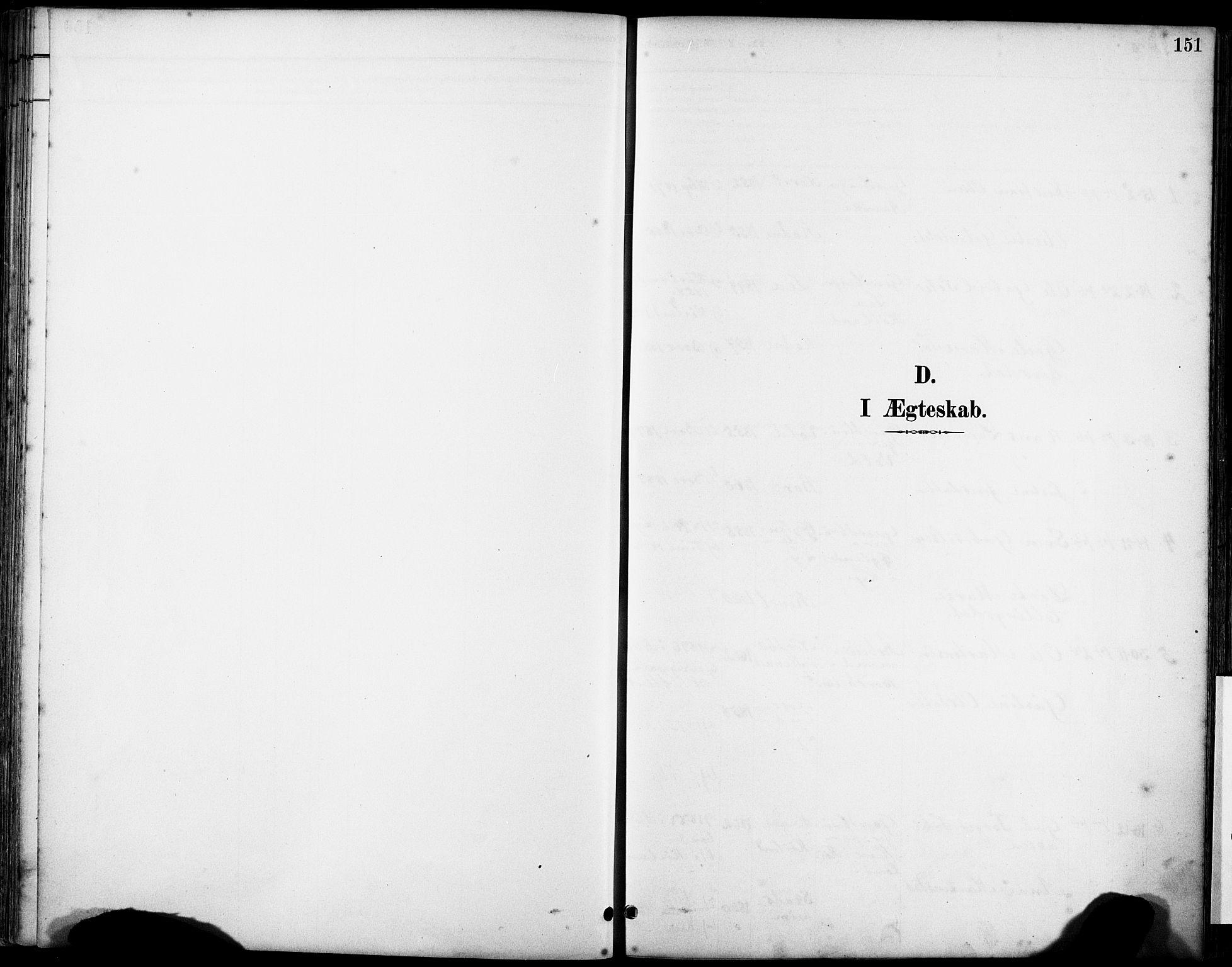 SAST, Klepp sokneprestkontor, 3/30BA/L0008: Ministerialbok nr. A 9, 1886-1919, s. 151