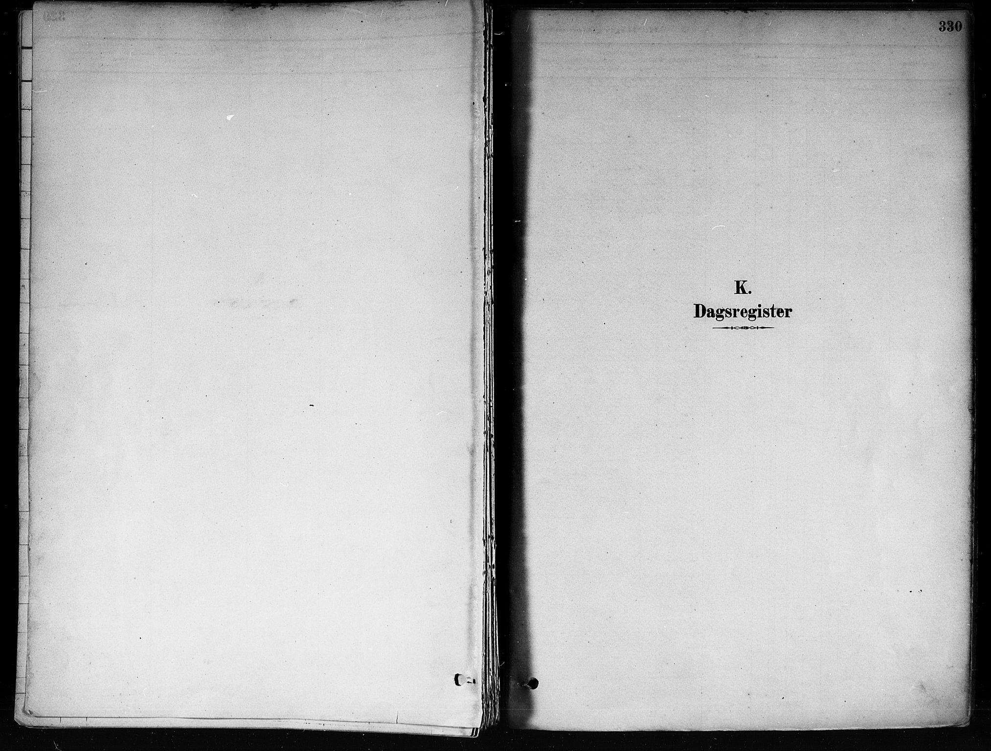 SAKO, Røyken kirkebøker, F/Fa/L0008: Ministerialbok nr. 8, 1880-1897, s. 330