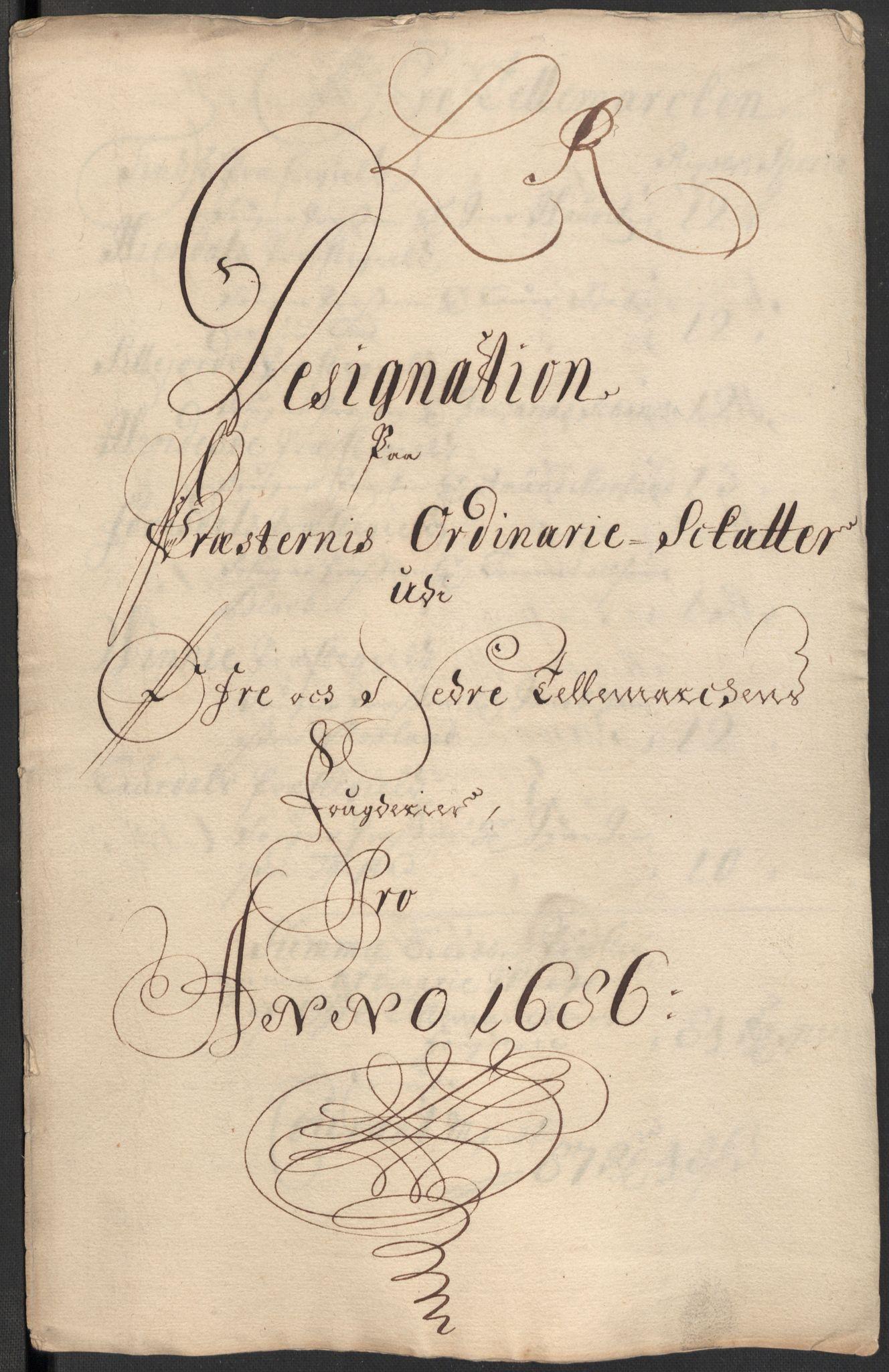 RA, Rentekammeret inntil 1814, Reviderte regnskaper, Fogderegnskap, R35/L2083: Fogderegnskap Øvre og Nedre Telemark, 1686, s. 400