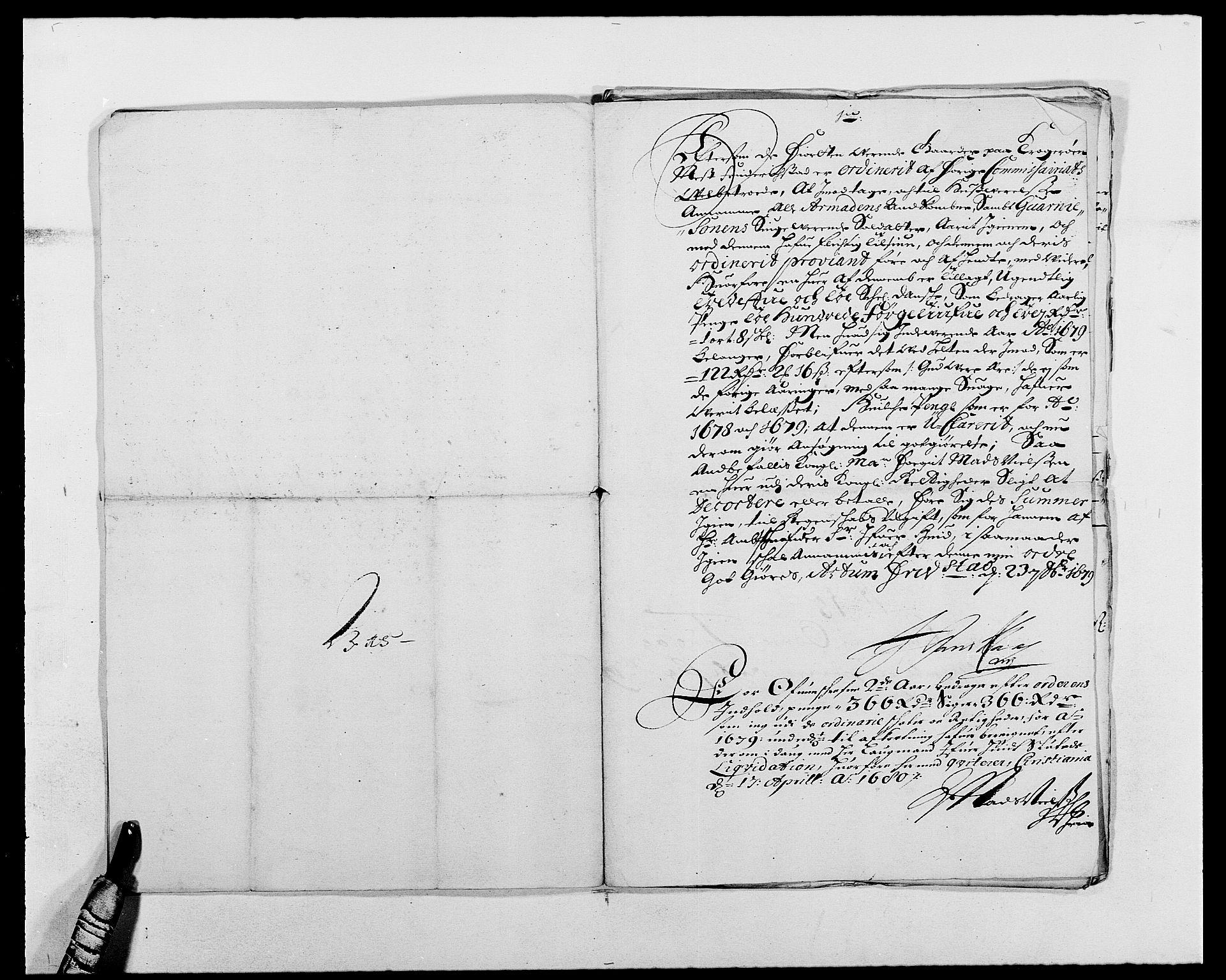 RA, Rentekammeret inntil 1814, Reviderte regnskaper, Fogderegnskap, R03/L0110: Fogderegnskap Onsøy, Tune, Veme og Åbygge fogderi, 1678-1679, s. 266