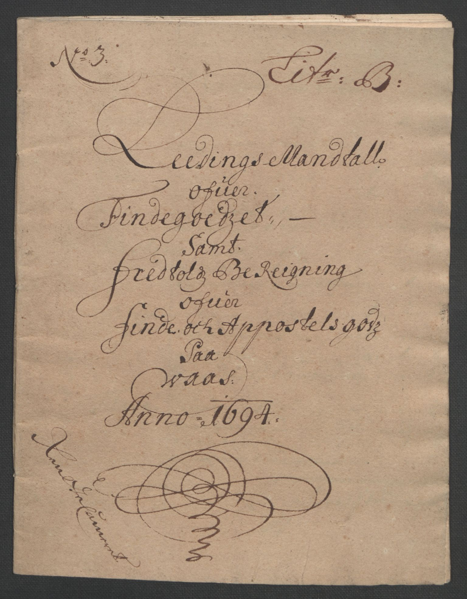 RA, Rentekammeret inntil 1814, Reviderte regnskaper, Fogderegnskap, R48/L2975: Fogderegnskap Sunnhordland og Hardanger, 1694, s. 287