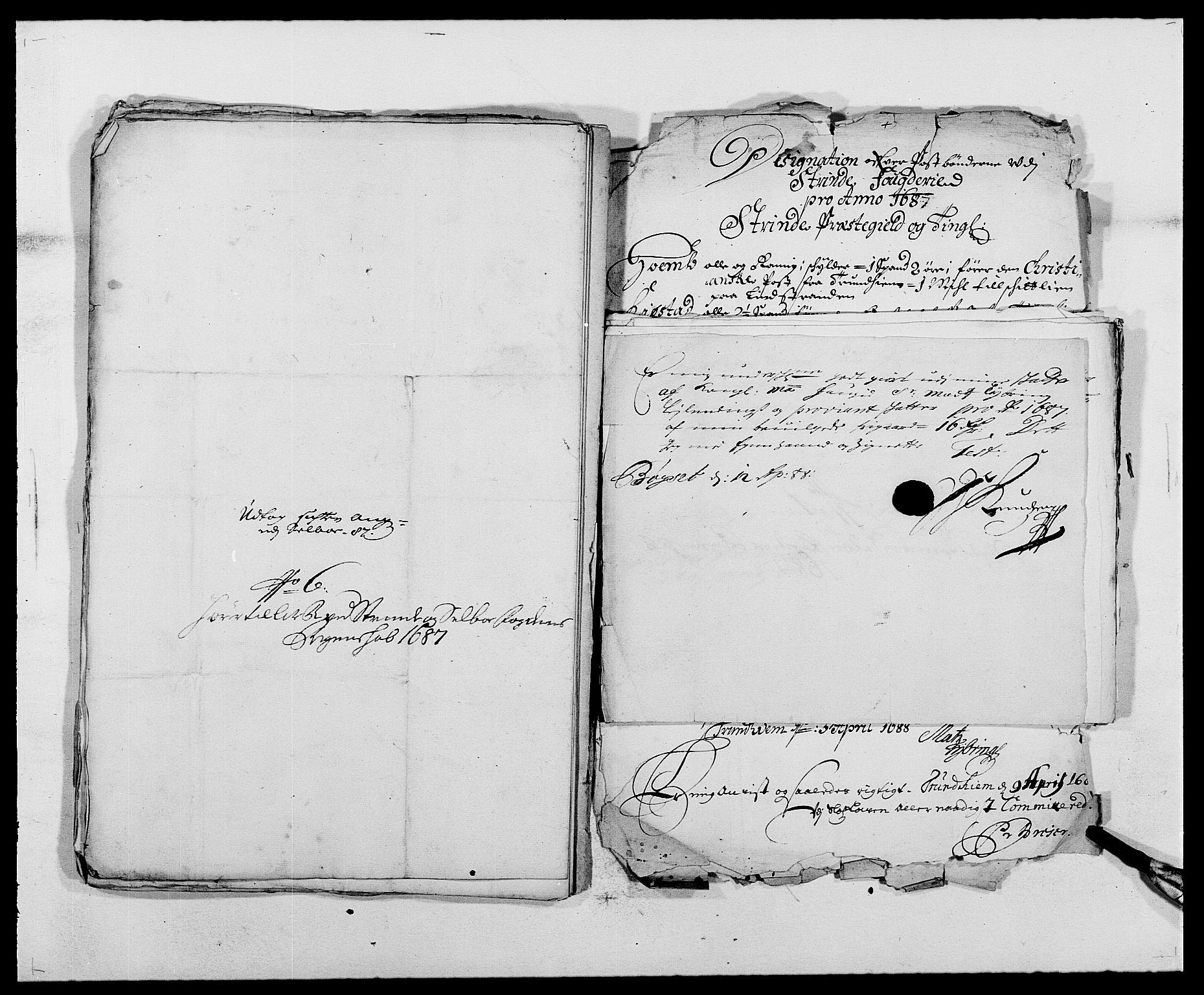 RA, Rentekammeret inntil 1814, Reviderte regnskaper, Fogderegnskap, R61/L4101: Fogderegnskap Strinda og Selbu, 1687-1688, s. 140