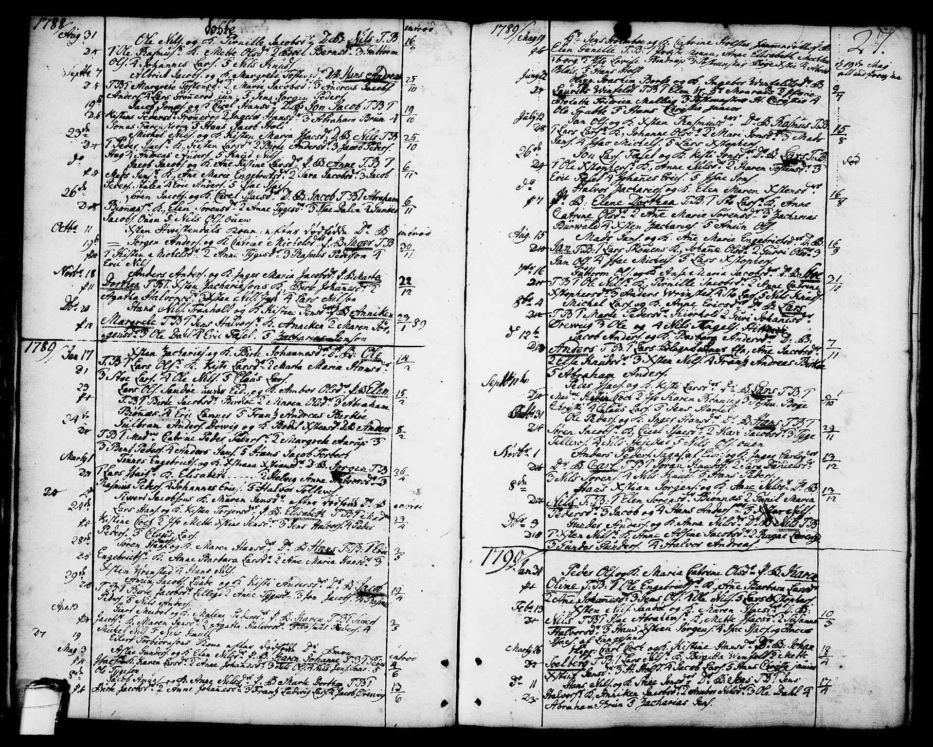 SAKO, Brevik kirkebøker, F/Fa/L0003: Ministerialbok nr. 3, 1764-1814, s. 27