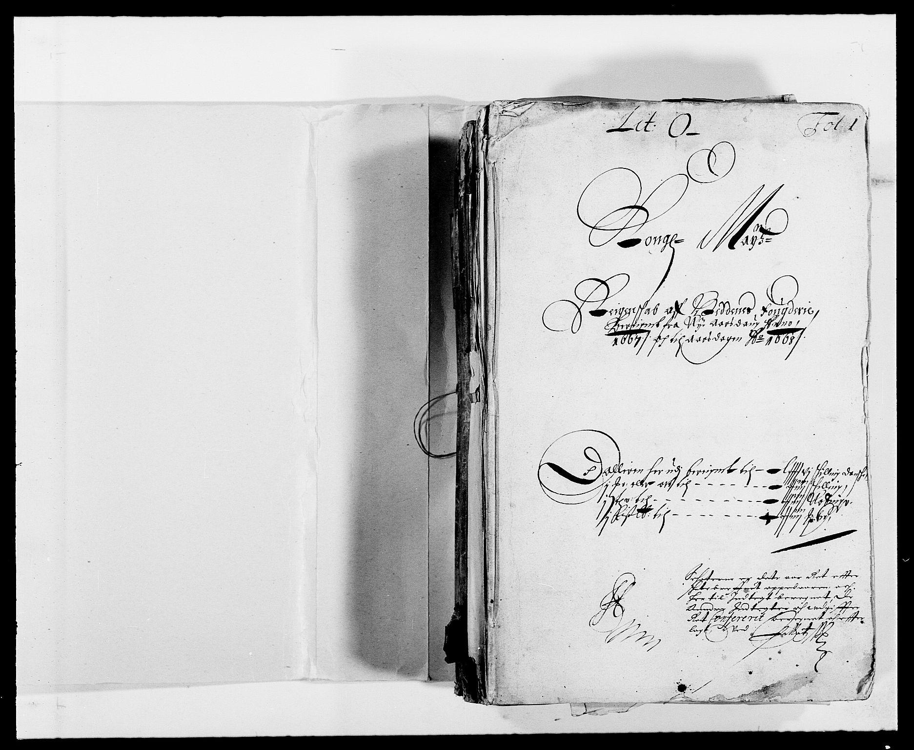 RA, Rentekammeret inntil 1814, Reviderte regnskaper, Fogderegnskap, R39/L2297: Fogderegnskap Nedenes, 1667-1669, s. 2