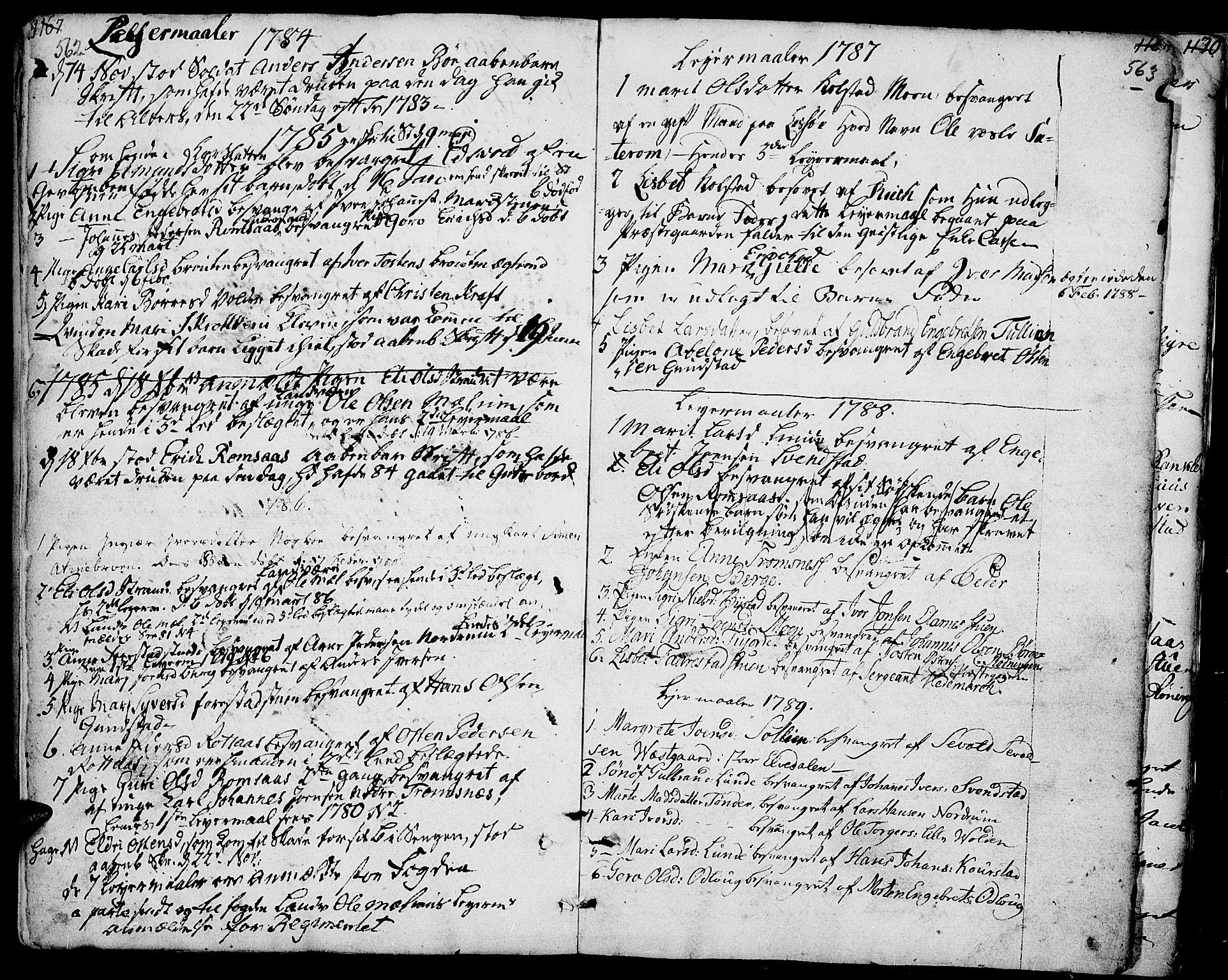 SAH, Ringebu prestekontor, Ministerialbok nr. 3, 1781-1820, s. 562-563