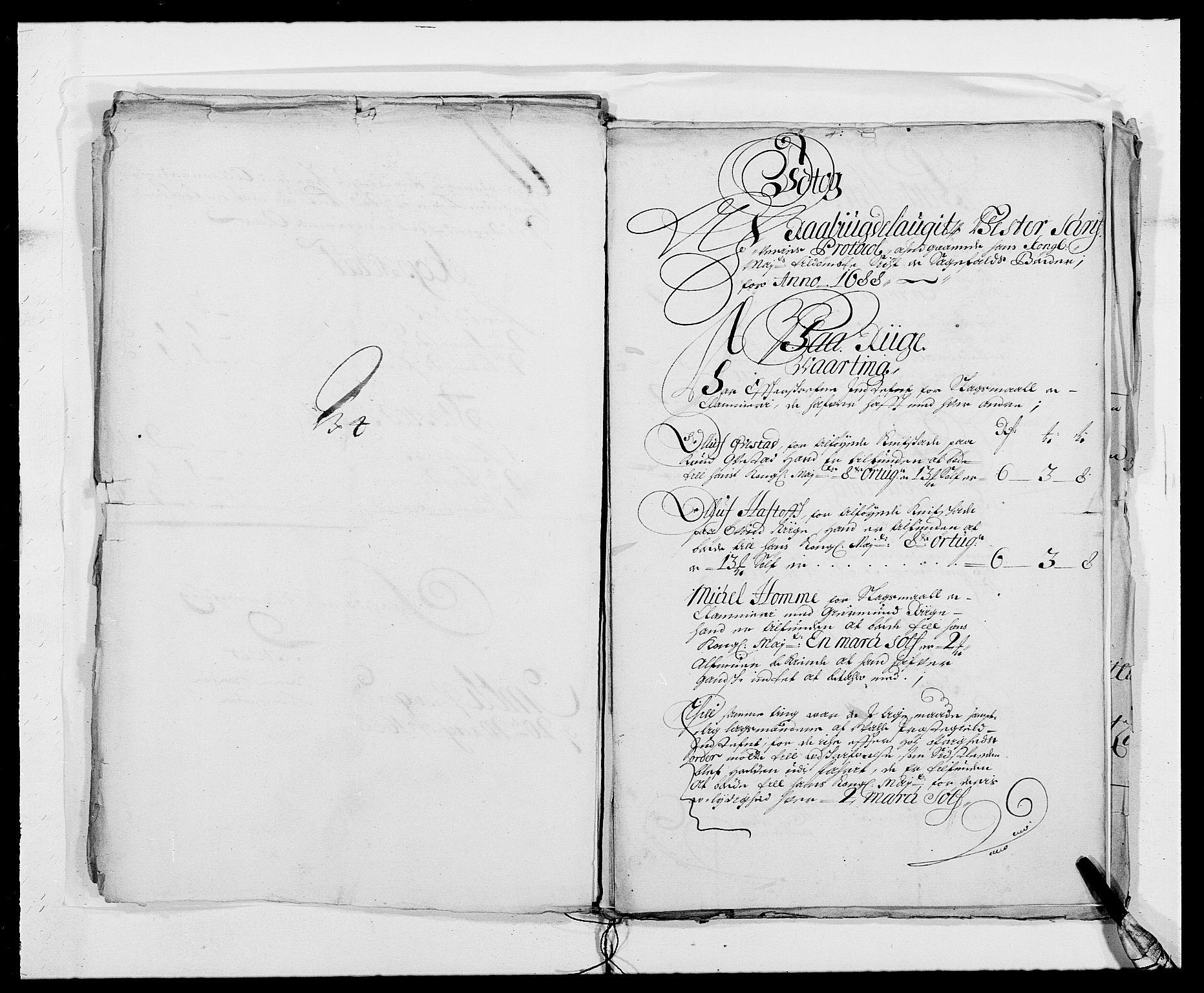 RA, Rentekammeret inntil 1814, Reviderte regnskaper, Fogderegnskap, R40/L2441: Fogderegnskap Råbyggelag, 1688, s. 86