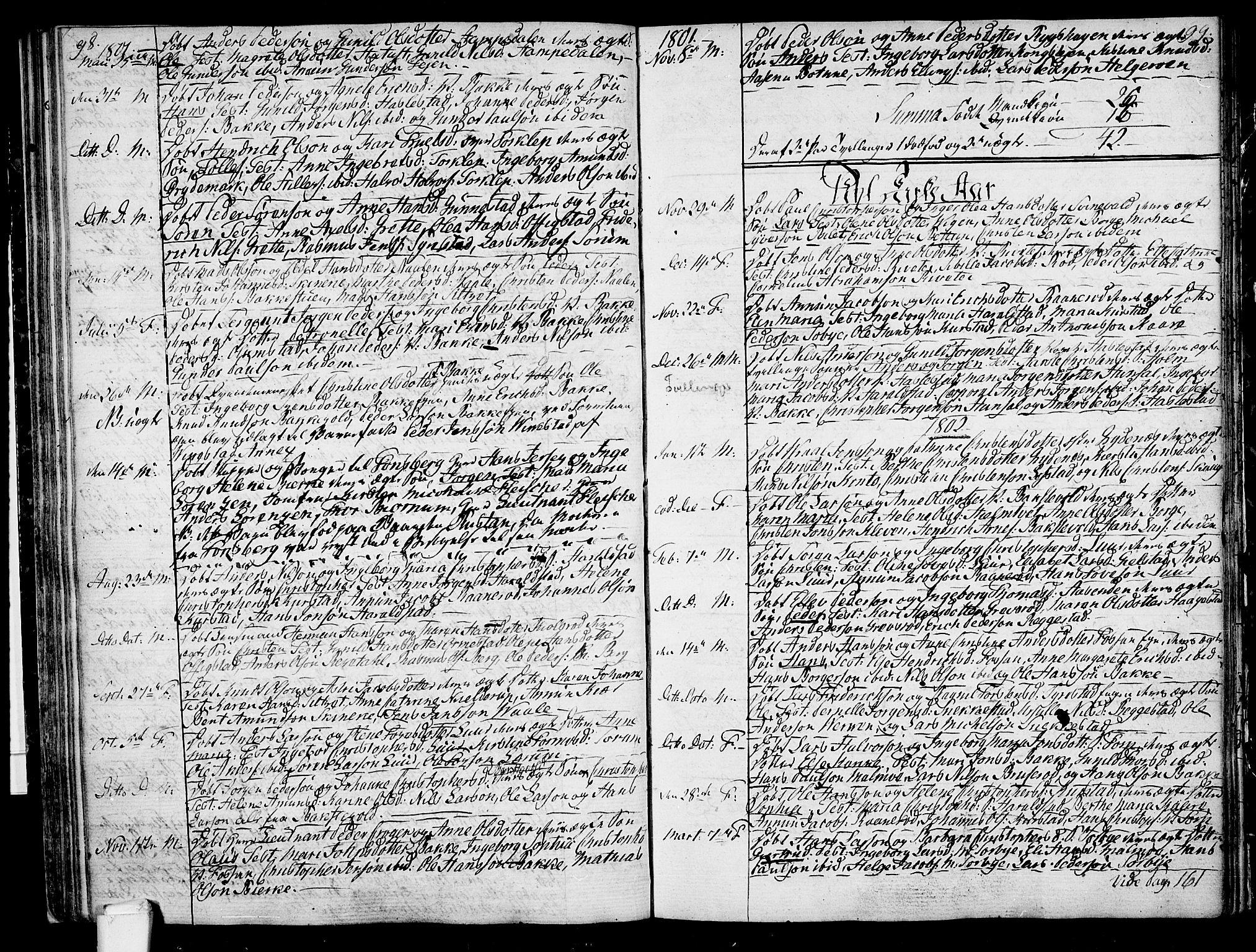 SAKO, Våle kirkebøker, F/Fa/L0005: Ministerialbok nr. I 5, 1773-1808, s. 98-99