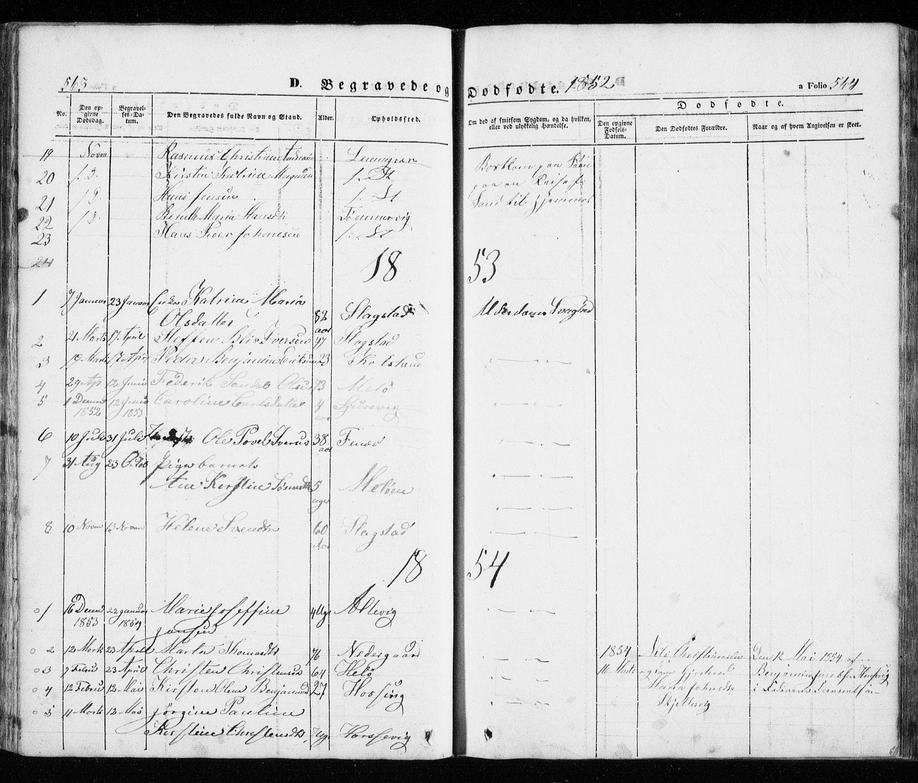 SATØ, Trondenes sokneprestkontor, H/Ha/L0010kirke: Ministerialbok nr. 10, 1840-1865, s. 563-564
