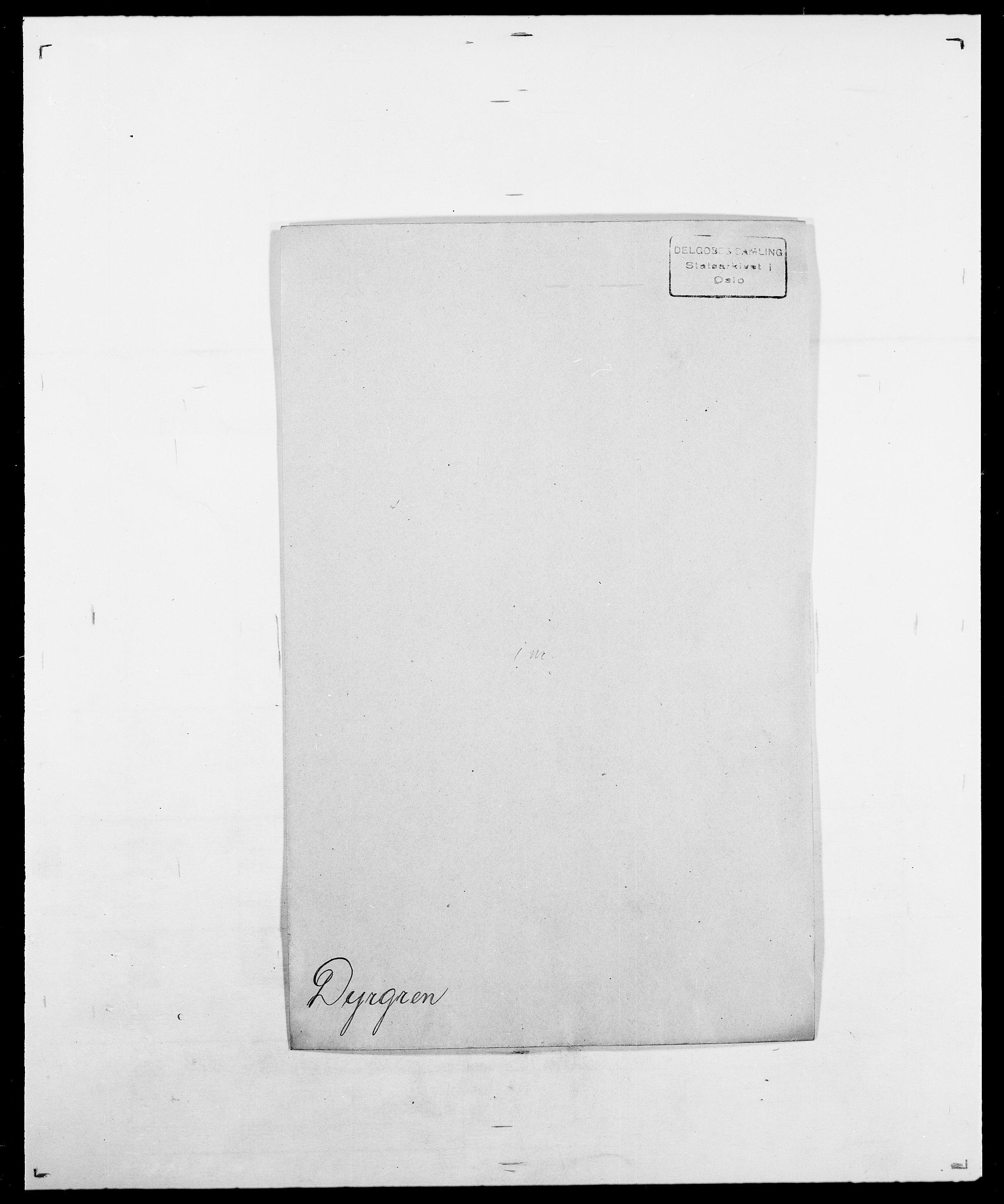 SAO, Delgobe, Charles Antoine - samling, D/Da/L0010: Dürendahl - Fagelund, s. 4