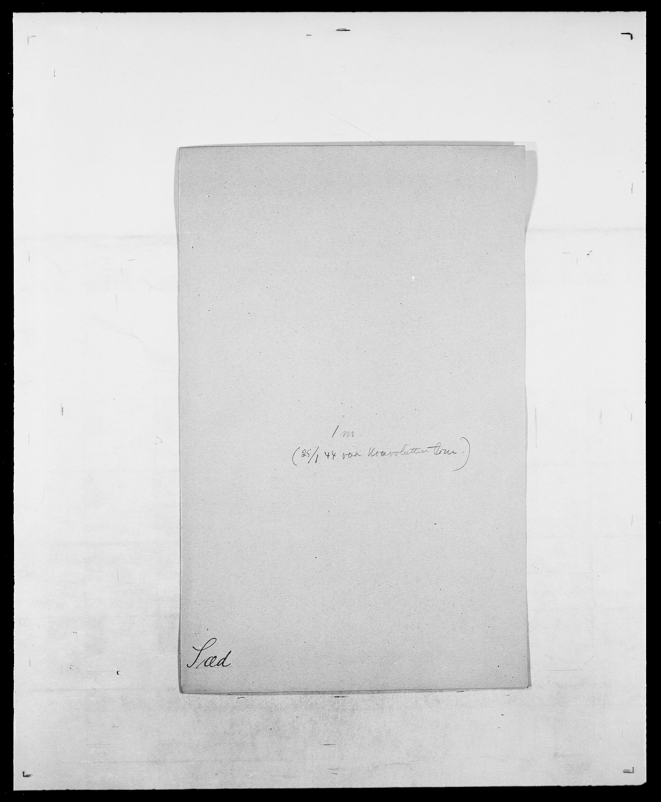 SAO, Delgobe, Charles Antoine - samling, D/Da/L0038: Svanenskjold - Thornsohn, s. 129