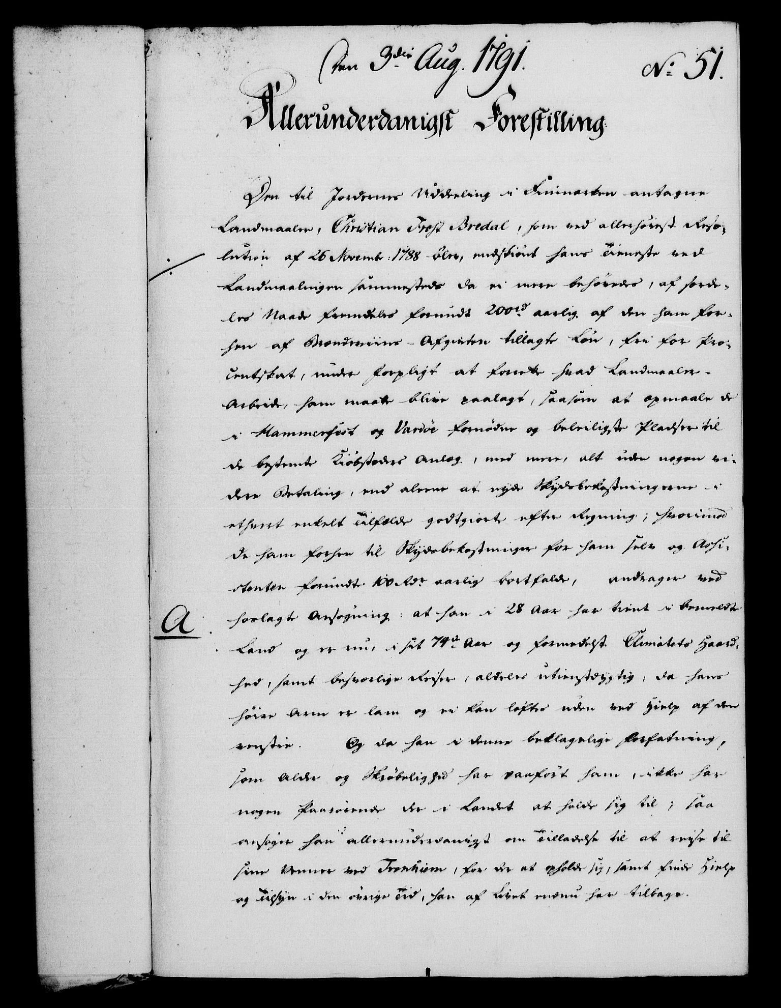 RA, Rentekammeret, Kammerkanselliet, G/Gf/Gfa/L0073: Norsk relasjons- og resolusjonsprotokoll (merket RK 52.73), 1791, s. 266