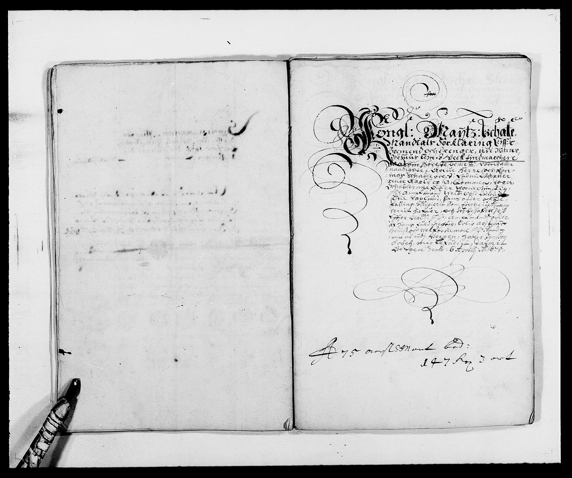 RA, Rentekammeret inntil 1814, Reviderte regnskaper, Fogderegnskap, R69/L4849: Fogderegnskap Finnmark/Vardøhus, 1661-1679, s. 329