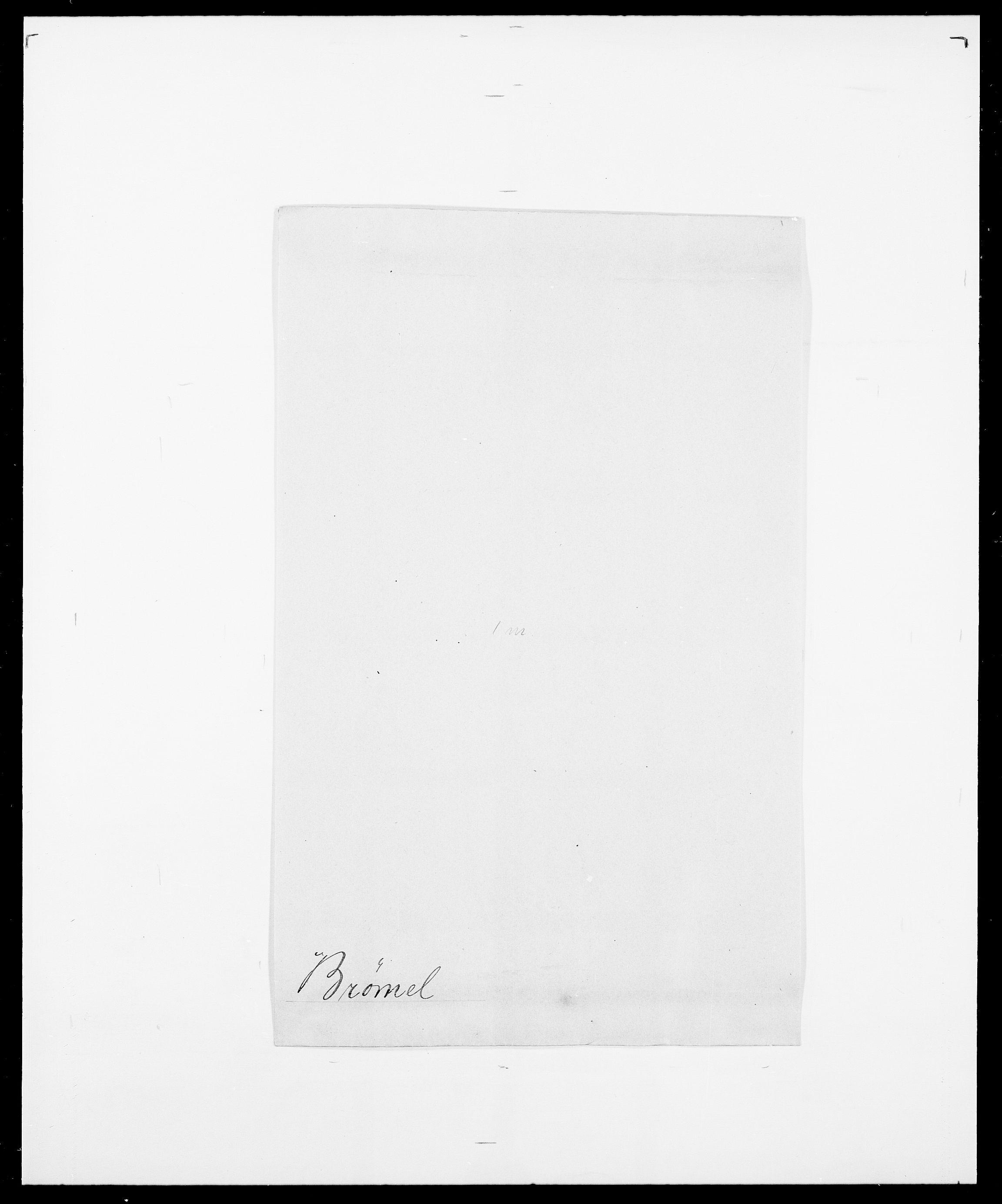 SAO, Delgobe, Charles Antoine - samling, D/Da/L0006: Brambani - Brønø, s. 954