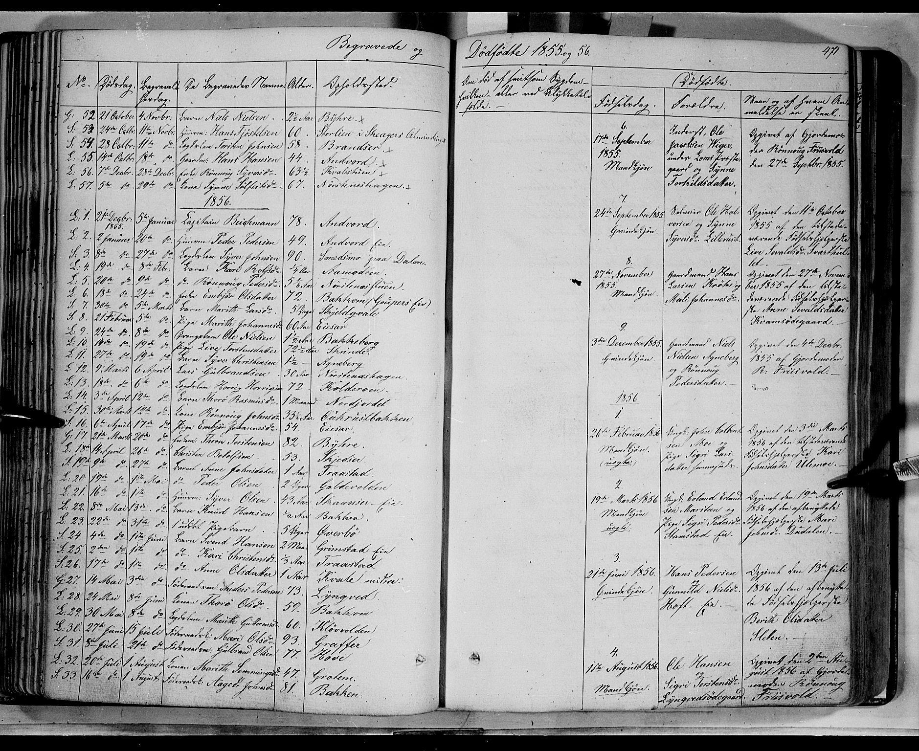 SAH, Lom prestekontor, K/L0006: Ministerialbok nr. 6B, 1837-1863, s. 471