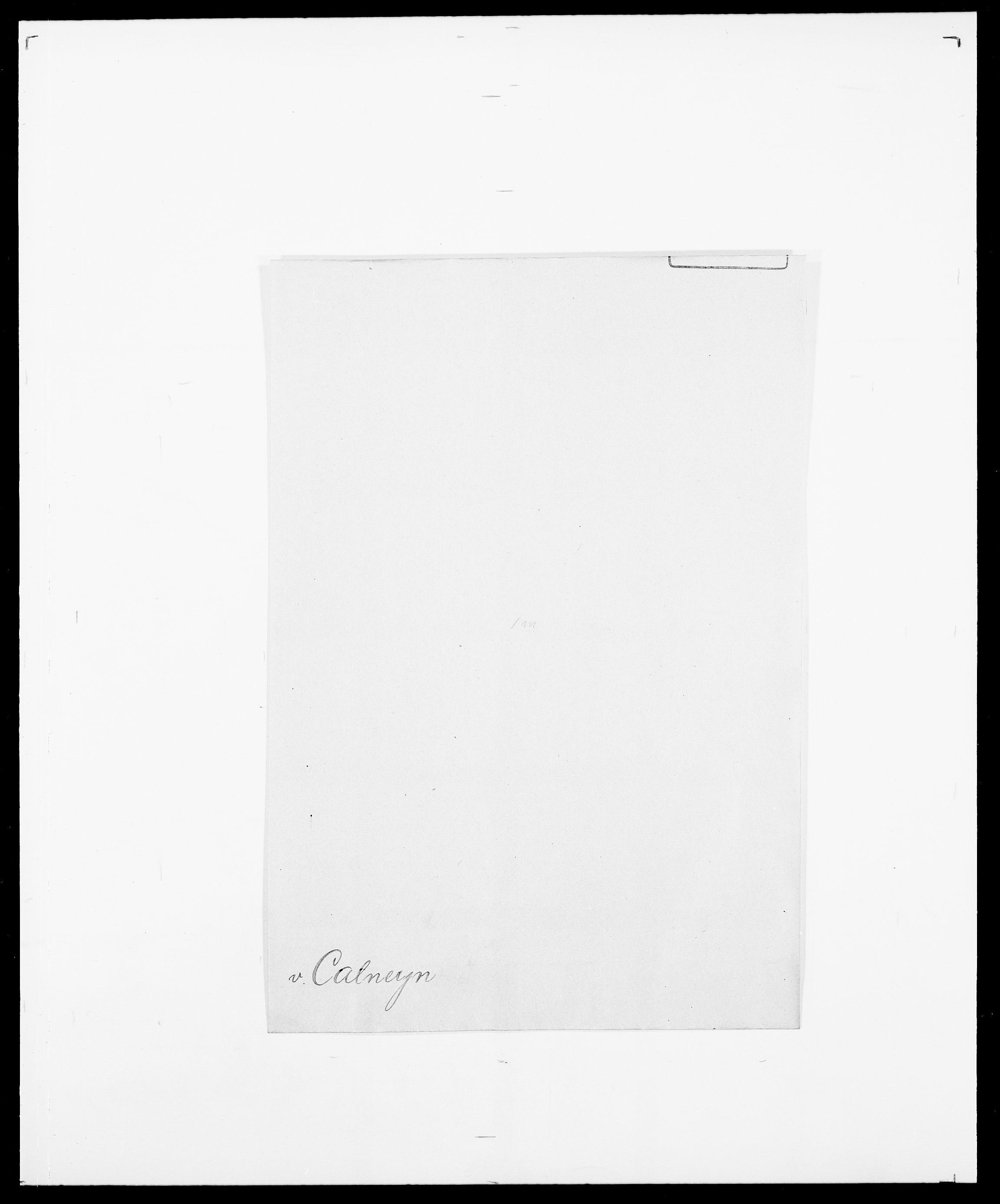SAO, Delgobe, Charles Antoine - samling, D/Da/L0007: Buaas - Caphengst, s. 833