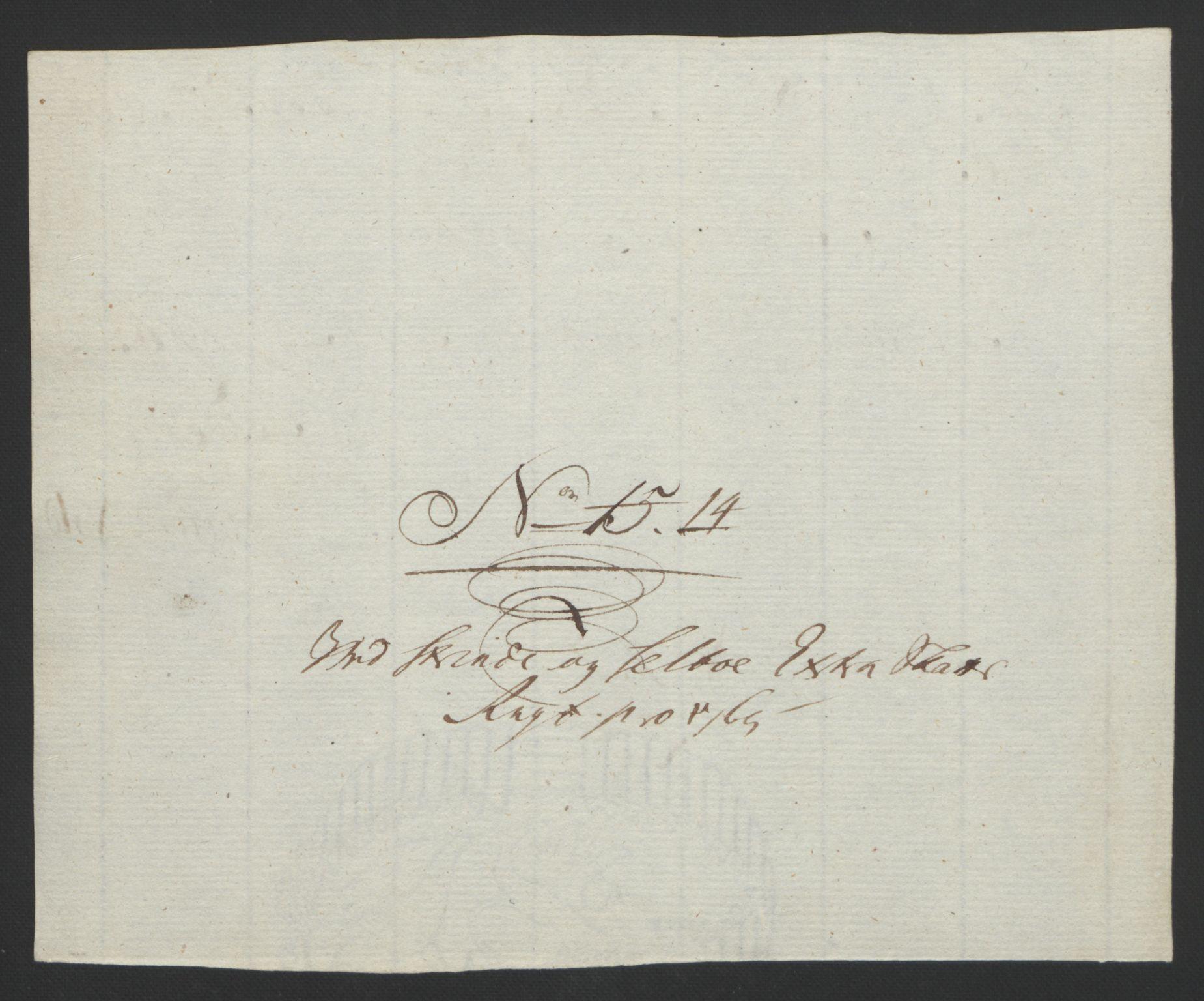 RA, Rentekammeret inntil 1814, Reviderte regnskaper, Fogderegnskap, R61/L4180: Ekstraskatten Strinda og Selbu, 1762-1767, s. 200