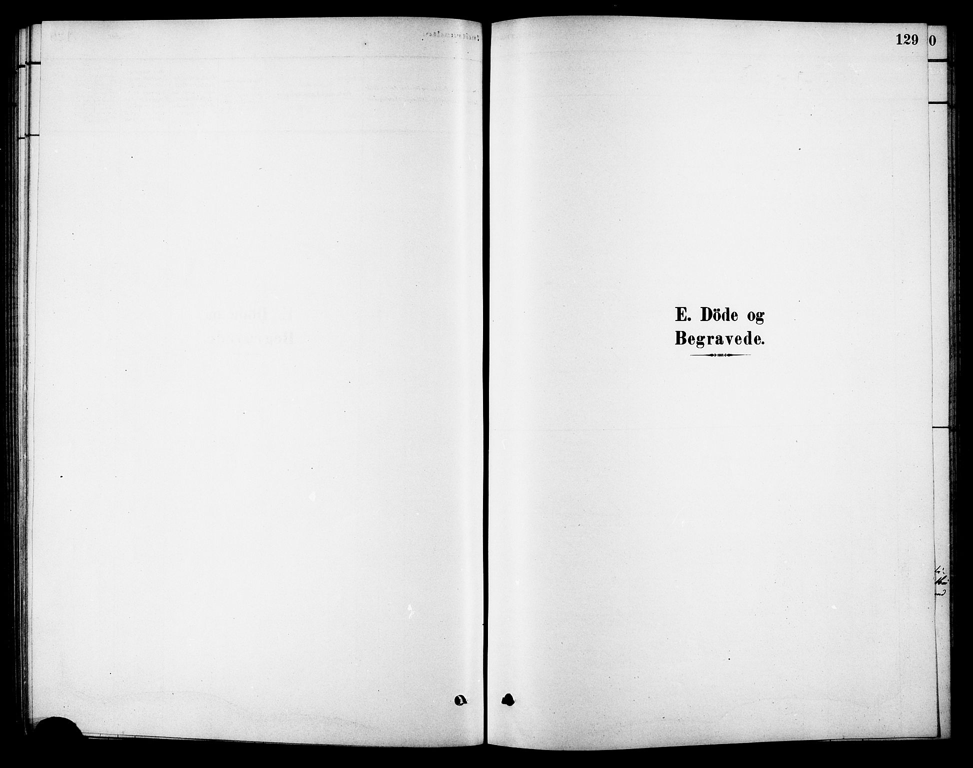 SAT, Ministerialprotokoller, klokkerbøker og fødselsregistre - Sør-Trøndelag, 688/L1024: Ministerialbok nr. 688A01, 1879-1890, s. 129