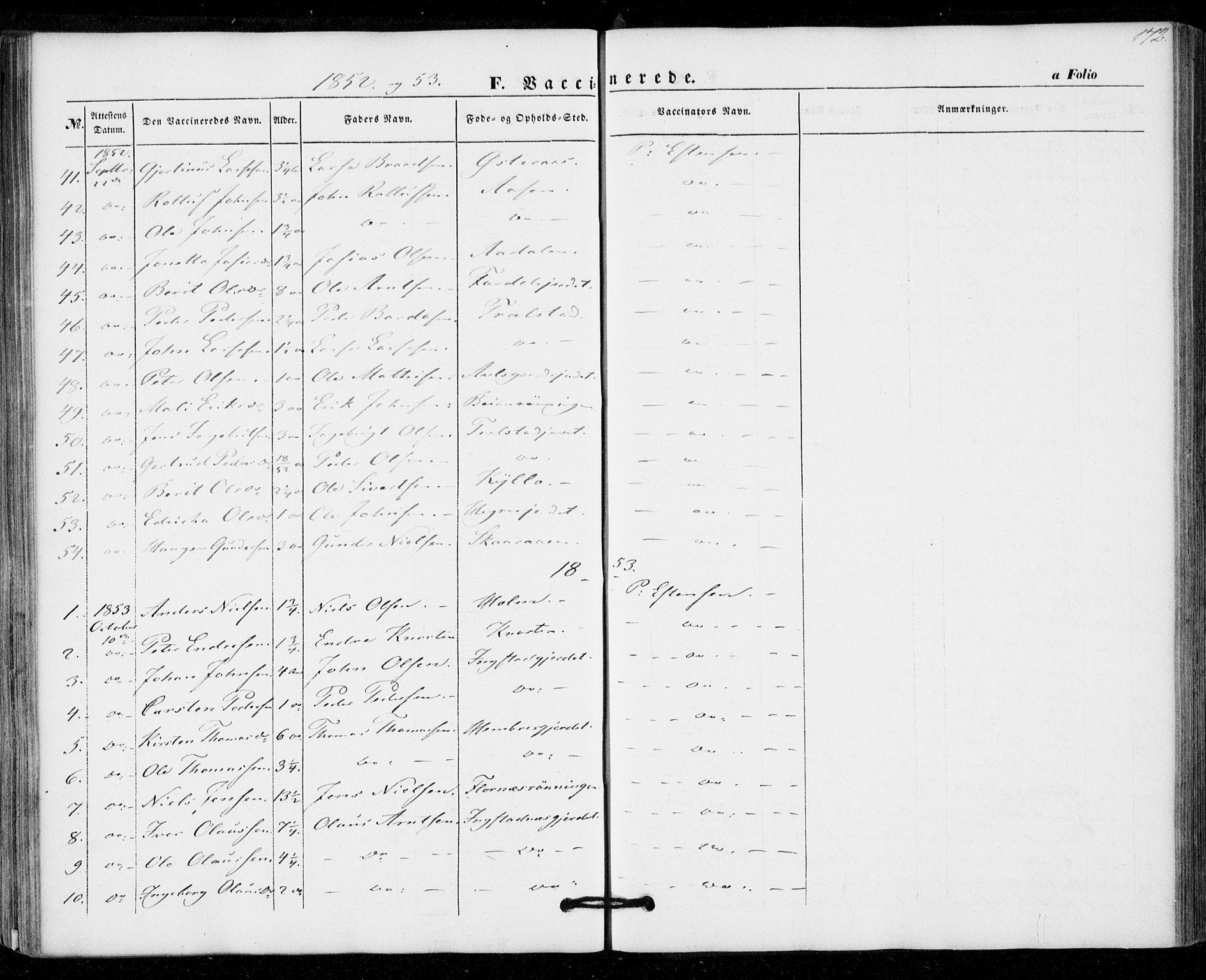 SAT, Ministerialprotokoller, klokkerbøker og fødselsregistre - Nord-Trøndelag, 703/L0028: Ministerialbok nr. 703A01, 1850-1862, s. 172