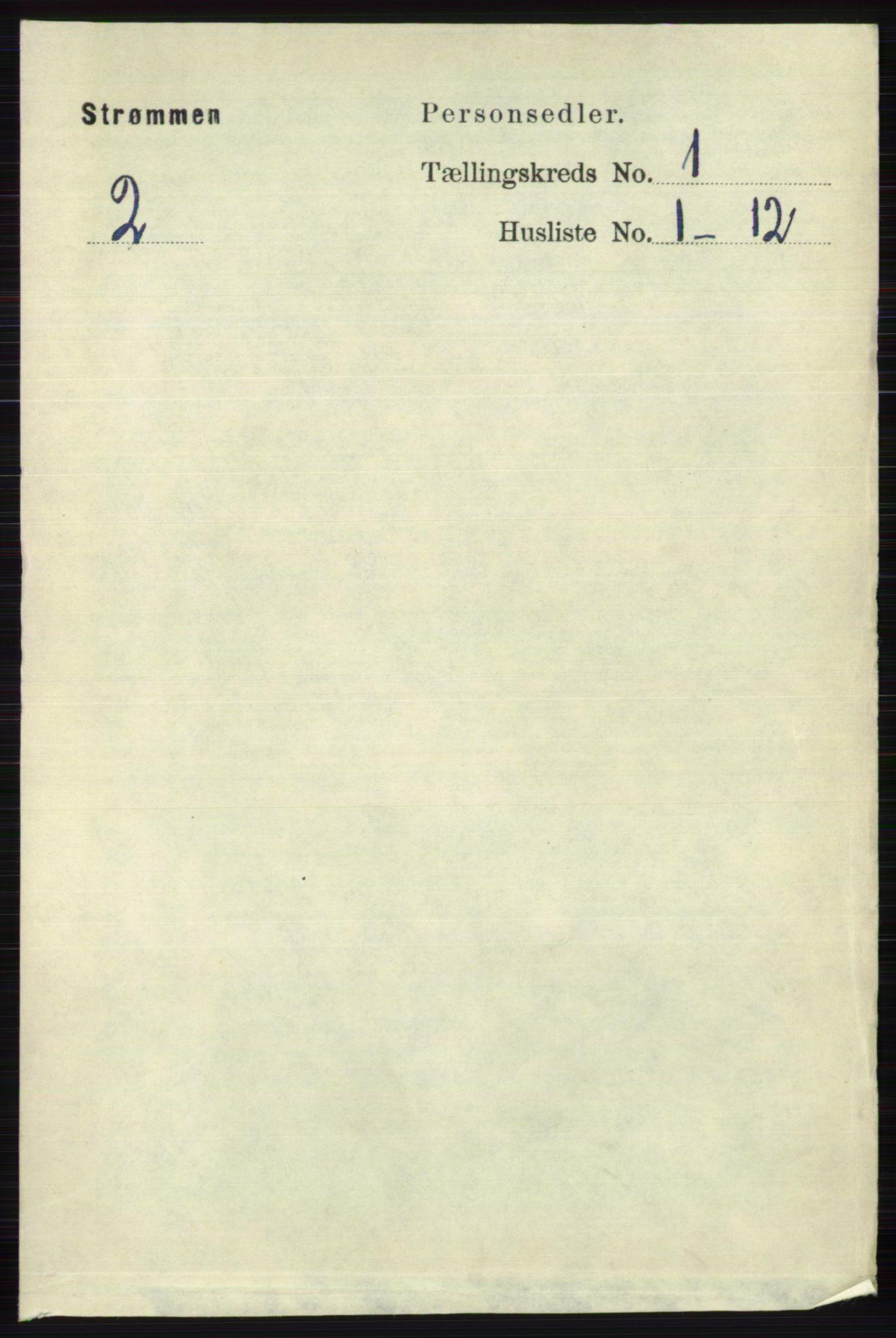 RA, Folketelling 1891 for 0711 Strømm herred, 1891, s. 59