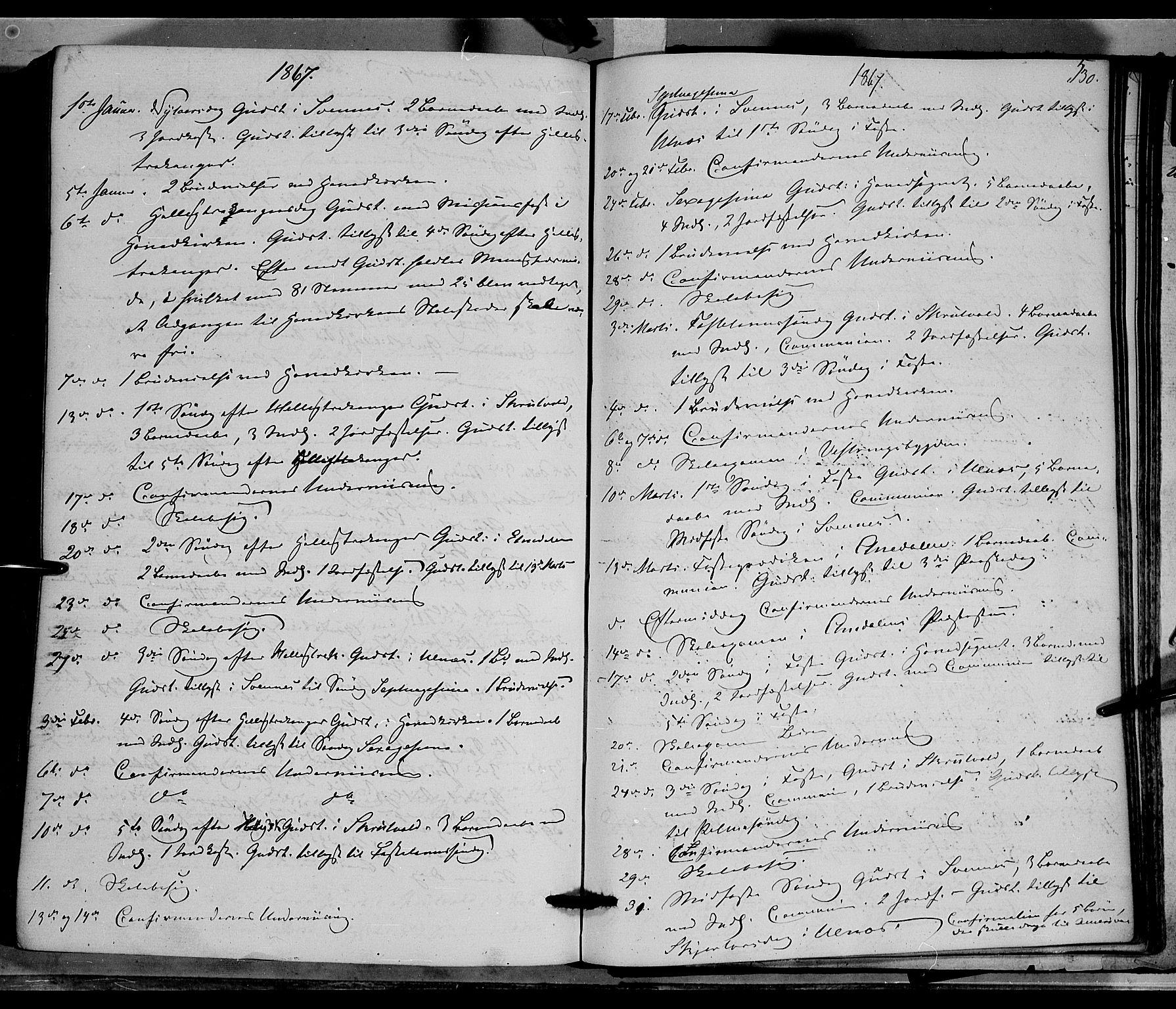 SAH, Nord-Aurdal prestekontor, Ministerialbok nr. 8, 1863-1875, s. 530