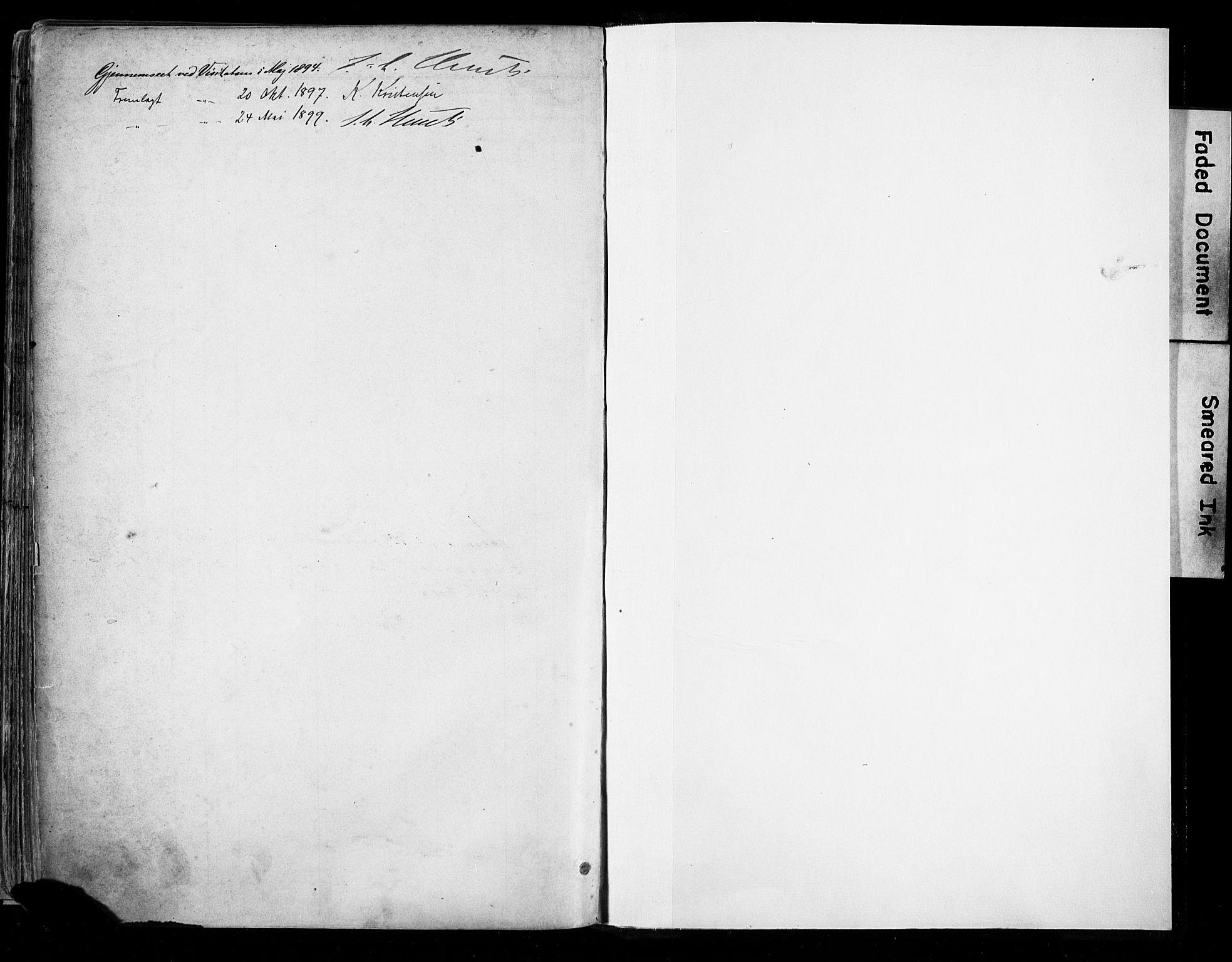SAST, St. Johannes sokneprestkontor, 30/30BA: Ministerialbok nr. A 4, 1891-1899