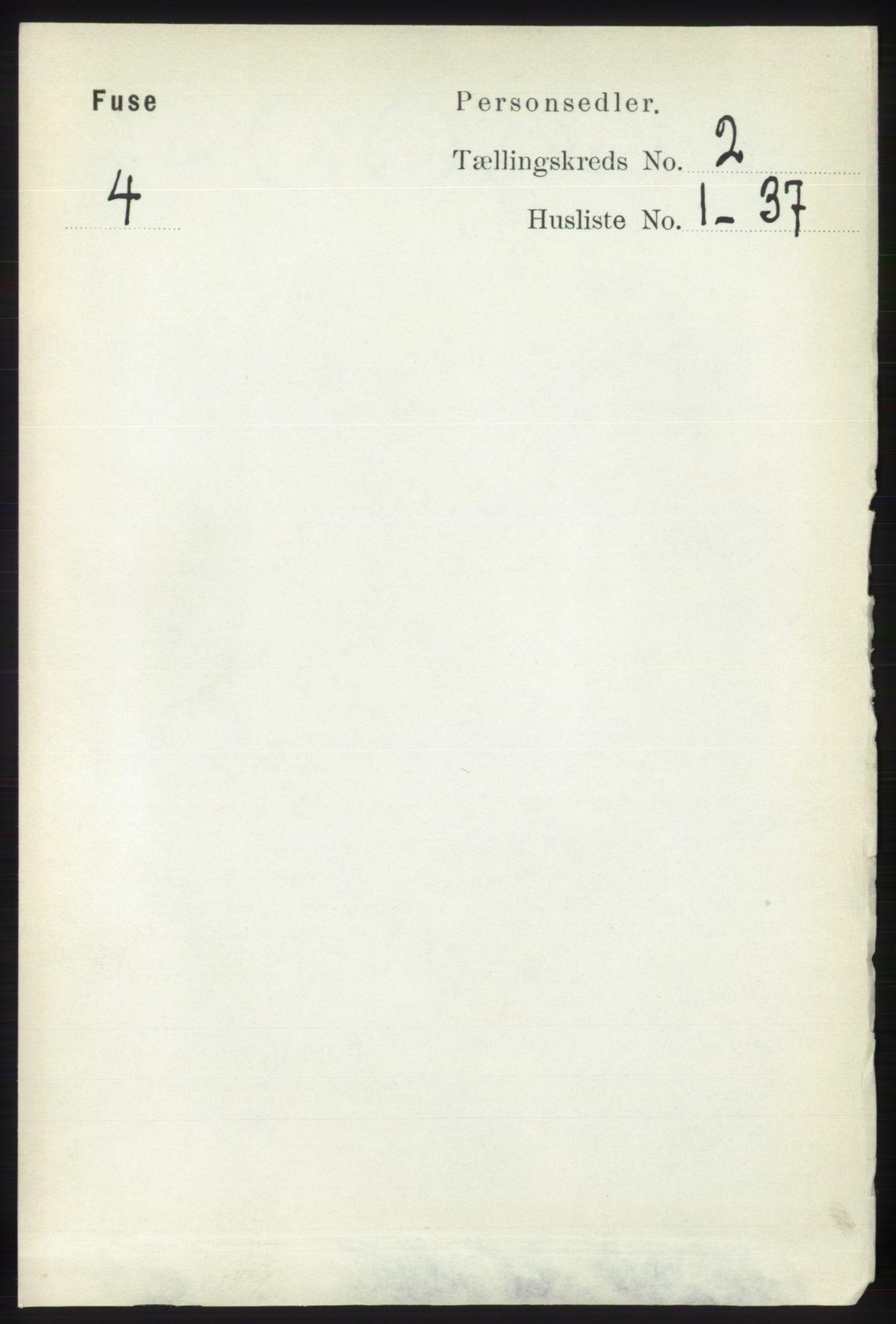 RA, Folketelling 1891 for 1241 Fusa herred, 1891, s. 302