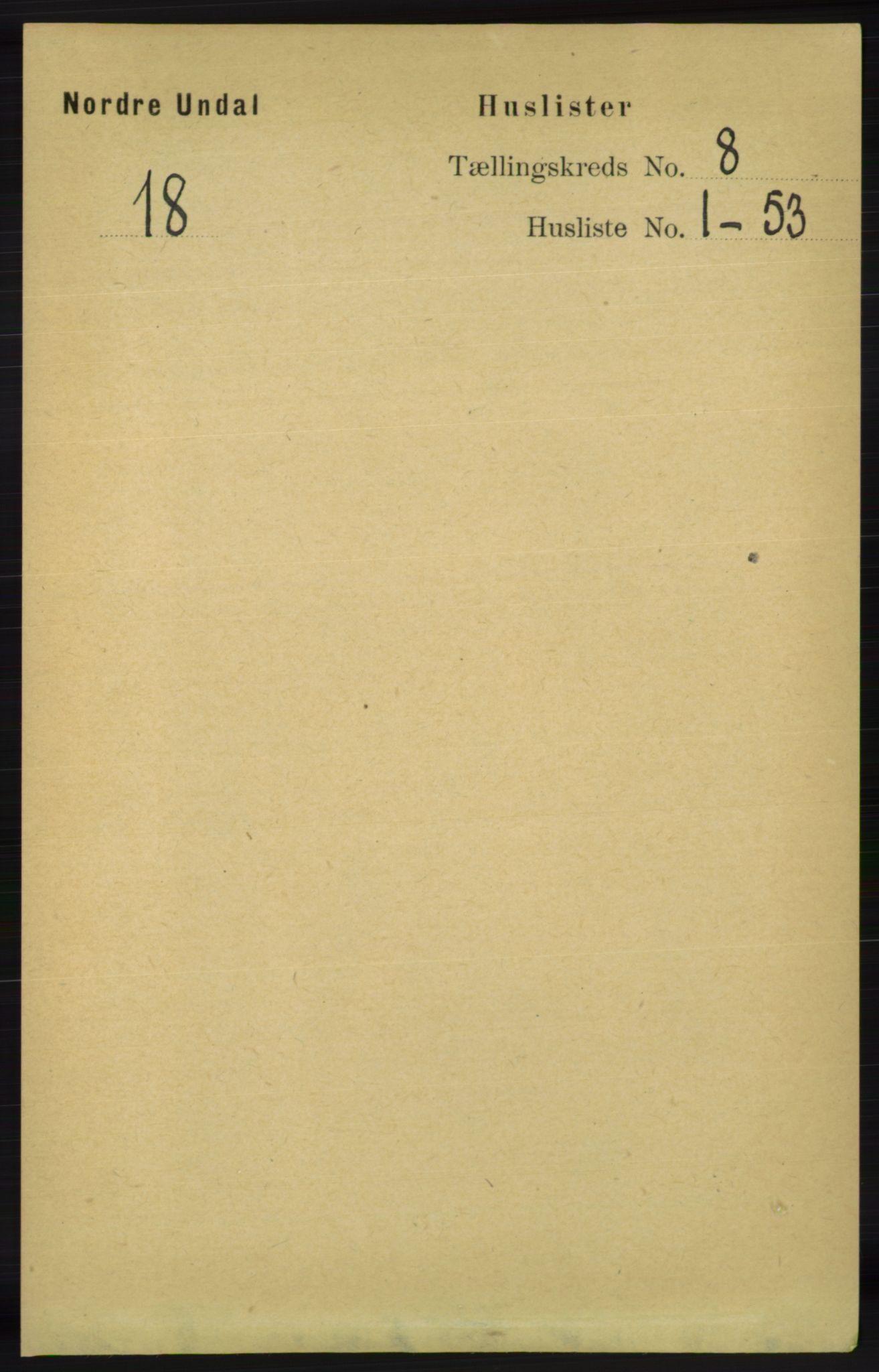RA, Folketelling 1891 for 1028 Nord-Audnedal herred, 1891, s. 2071