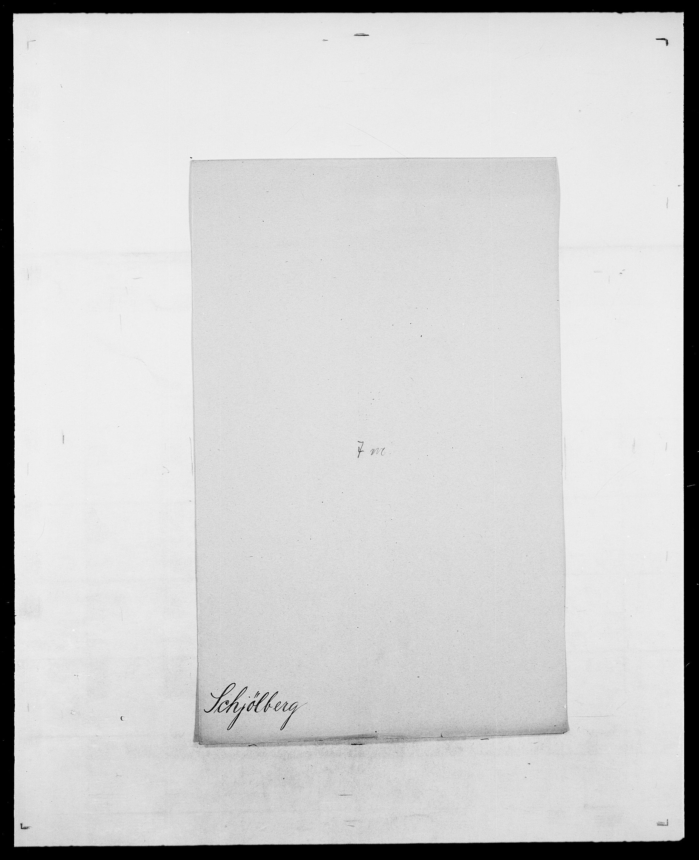 SAO, Delgobe, Charles Antoine - samling, D/Da/L0034: Saabye - Schmincke, s. 761