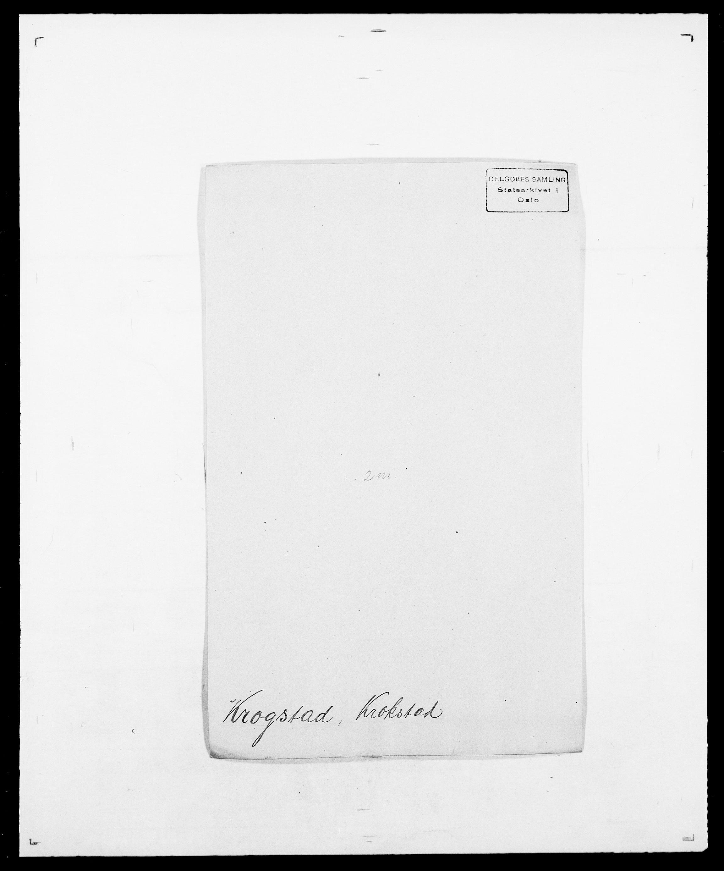 SAO, Delgobe, Charles Antoine - samling, D/Da/L0022: Krog - Lasteen, s. 69