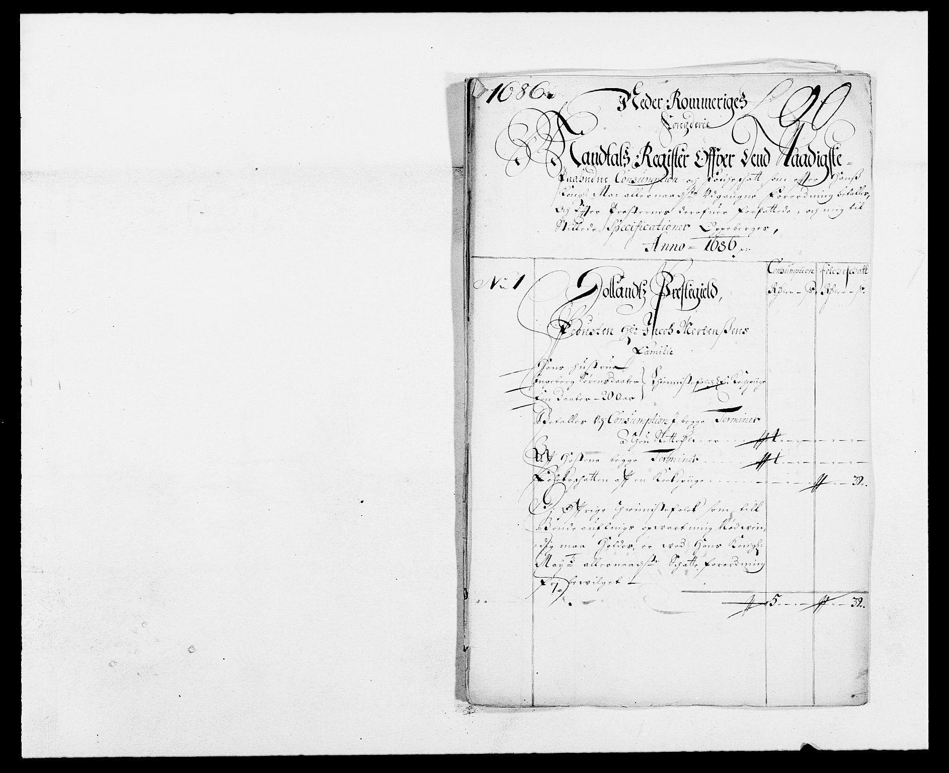 RA, Rentekammeret inntil 1814, Reviderte regnskaper, Fogderegnskap, R11/L0572: Fogderegnskap Nedre Romerike, 1686-1687, s. 167