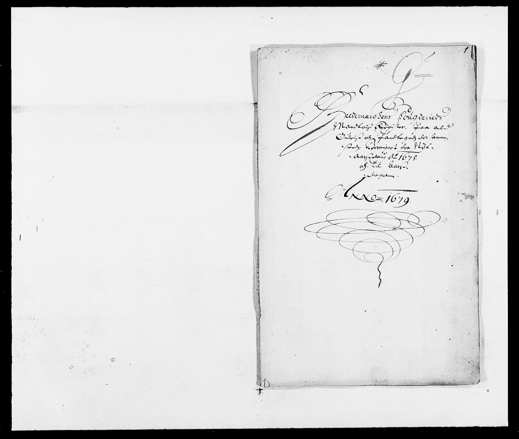 RA, Rentekammeret inntil 1814, Reviderte regnskaper, Fogderegnskap, R16/L1017: Fogderegnskap Hedmark, 1678-1679, s. 259