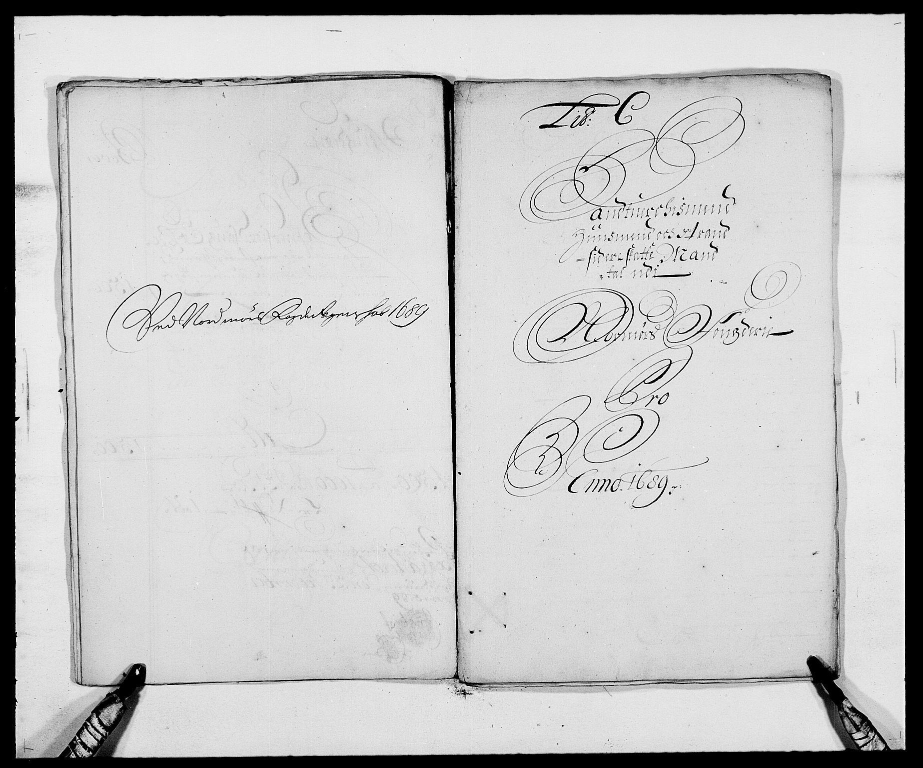 RA, Rentekammeret inntil 1814, Reviderte regnskaper, Fogderegnskap, R56/L3733: Fogderegnskap Nordmøre, 1687-1689, s. 358