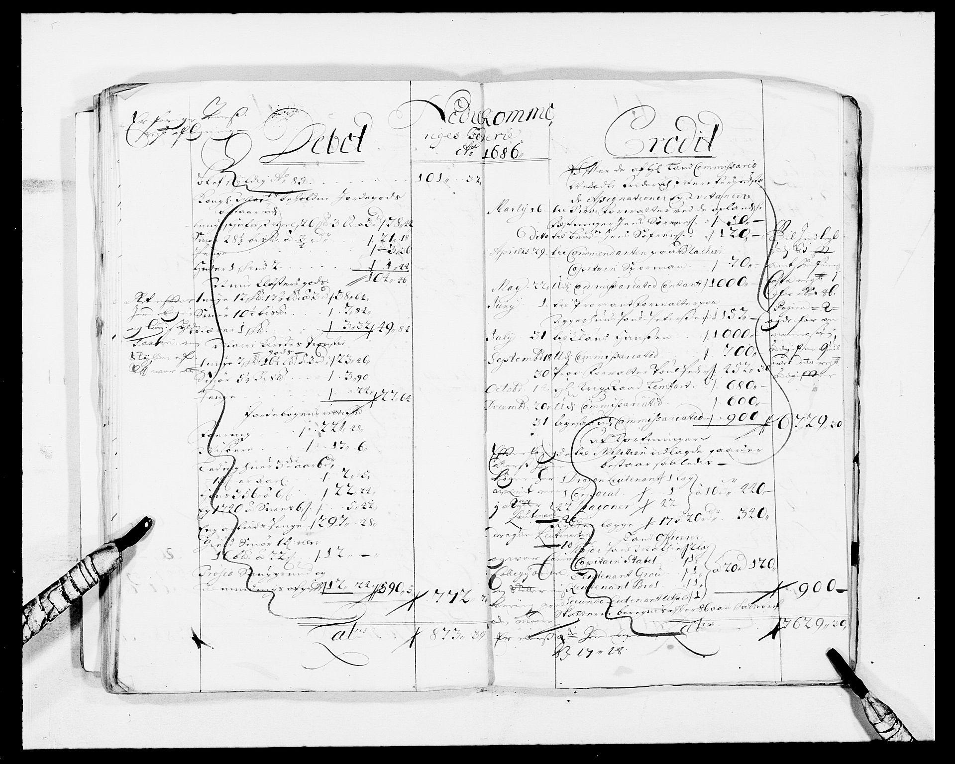 RA, Rentekammeret inntil 1814, Reviderte regnskaper, Fogderegnskap, R11/L0573: Fogderegnskap Nedre Romerike, 1679-1688, s. 172
